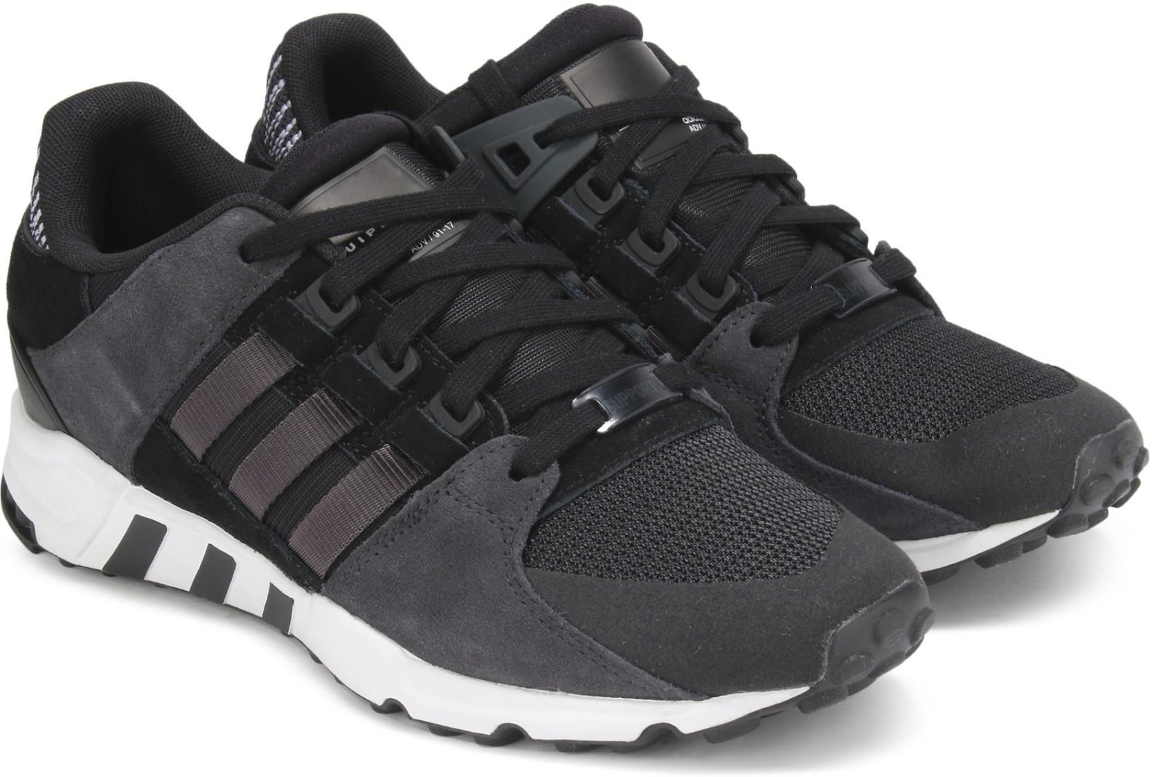 huge selection of bff77 b7f6d ADIDAS ORIGINALS EQT SUPPORT RF Sneakers For Men (Black)