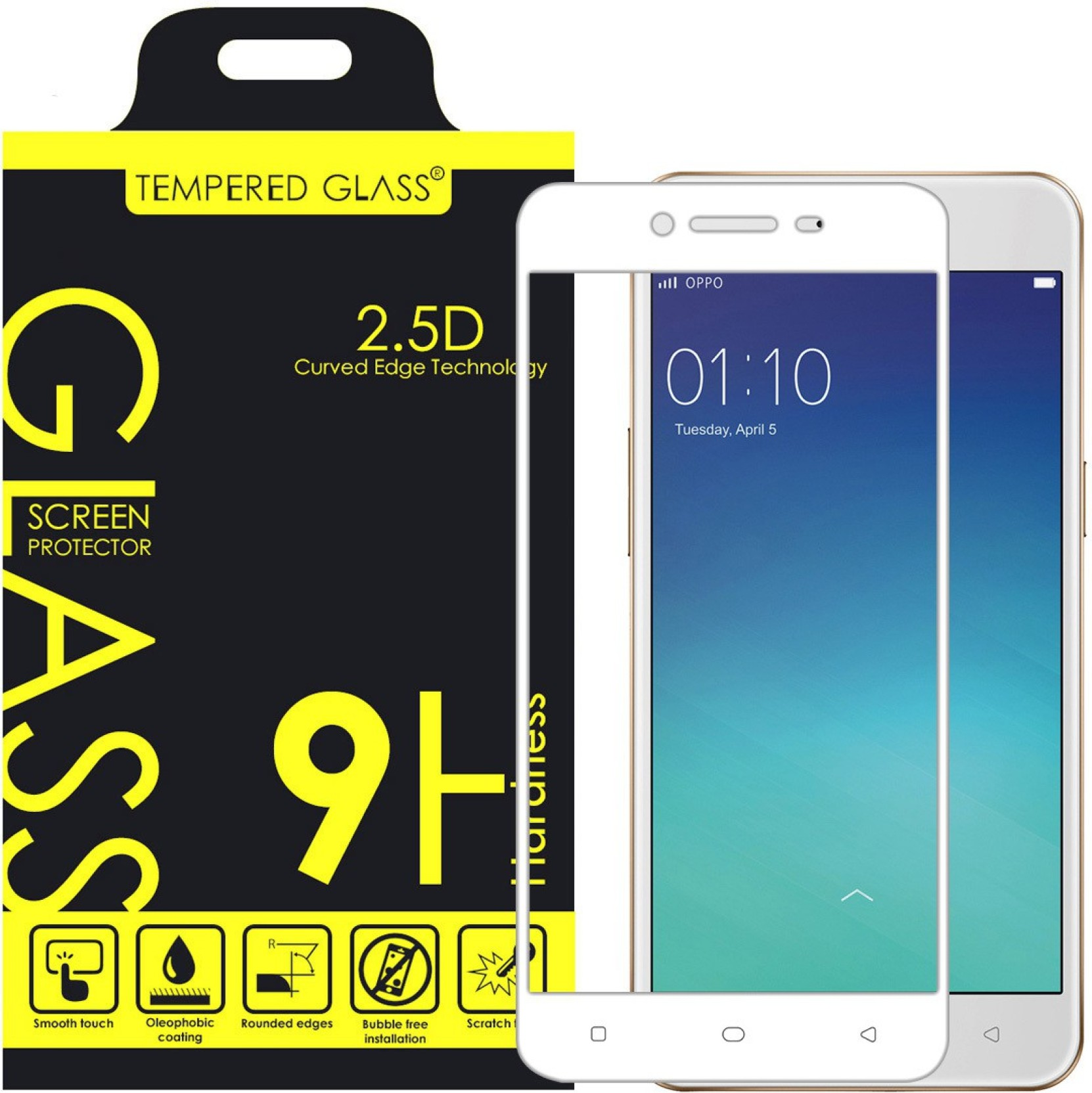 Tempered Glass Guard For Oppo A37 Screen Protector Cover Share