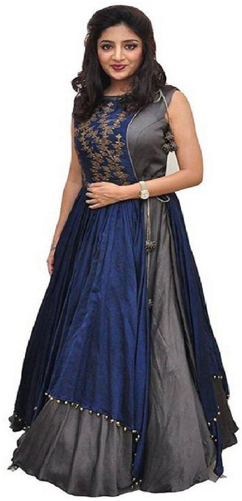 Shital Fashion World Anarkali Gown Price in India - Buy Shital ...