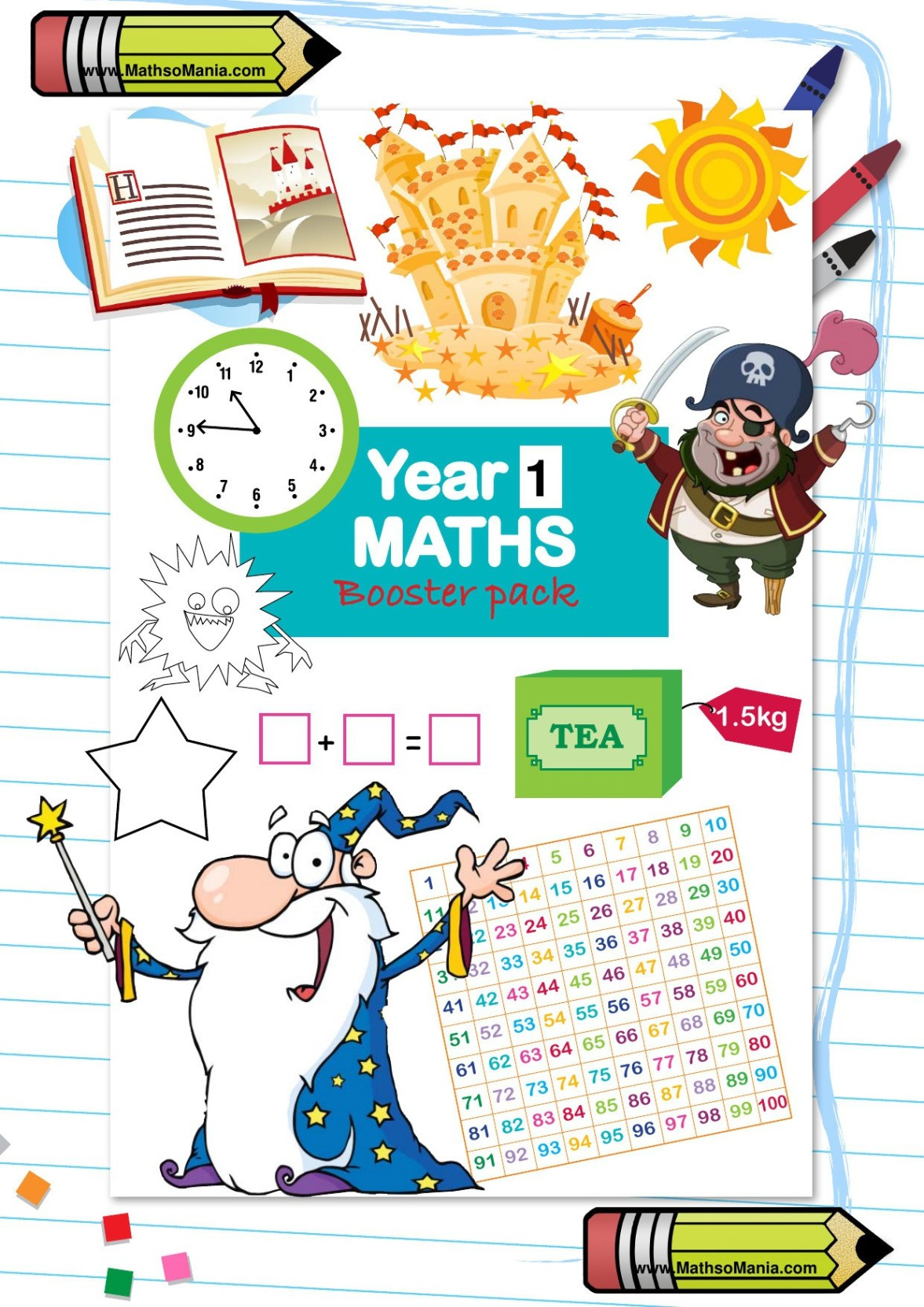 MathsoMania Grade 1 Maths, Reasoning, Mental Maths, and English ...