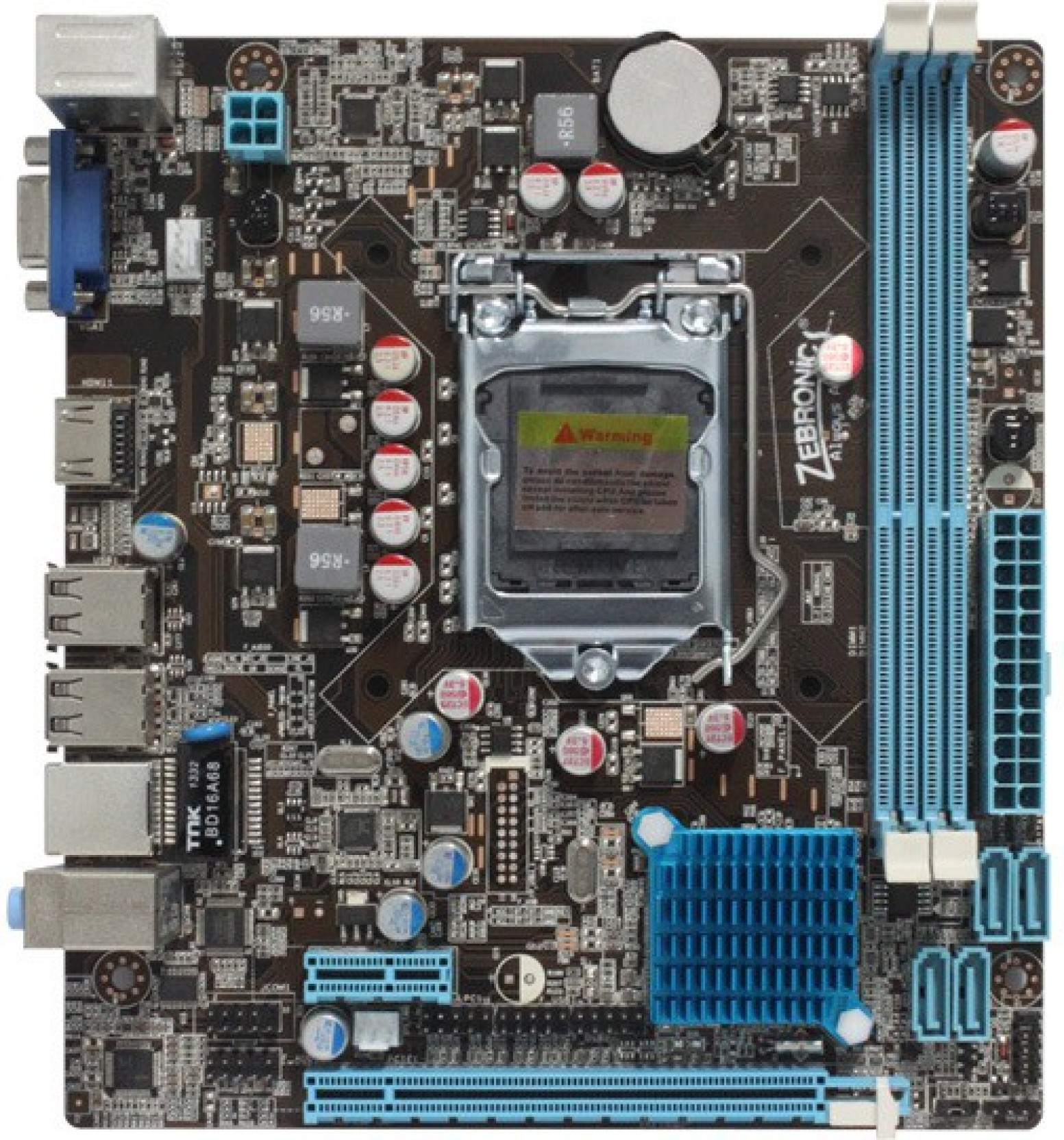 Zebronics Zeb H61 Socket 1155 Motherboard Processor Lga1150 G3240 310ghz Dual Core Add To Cart