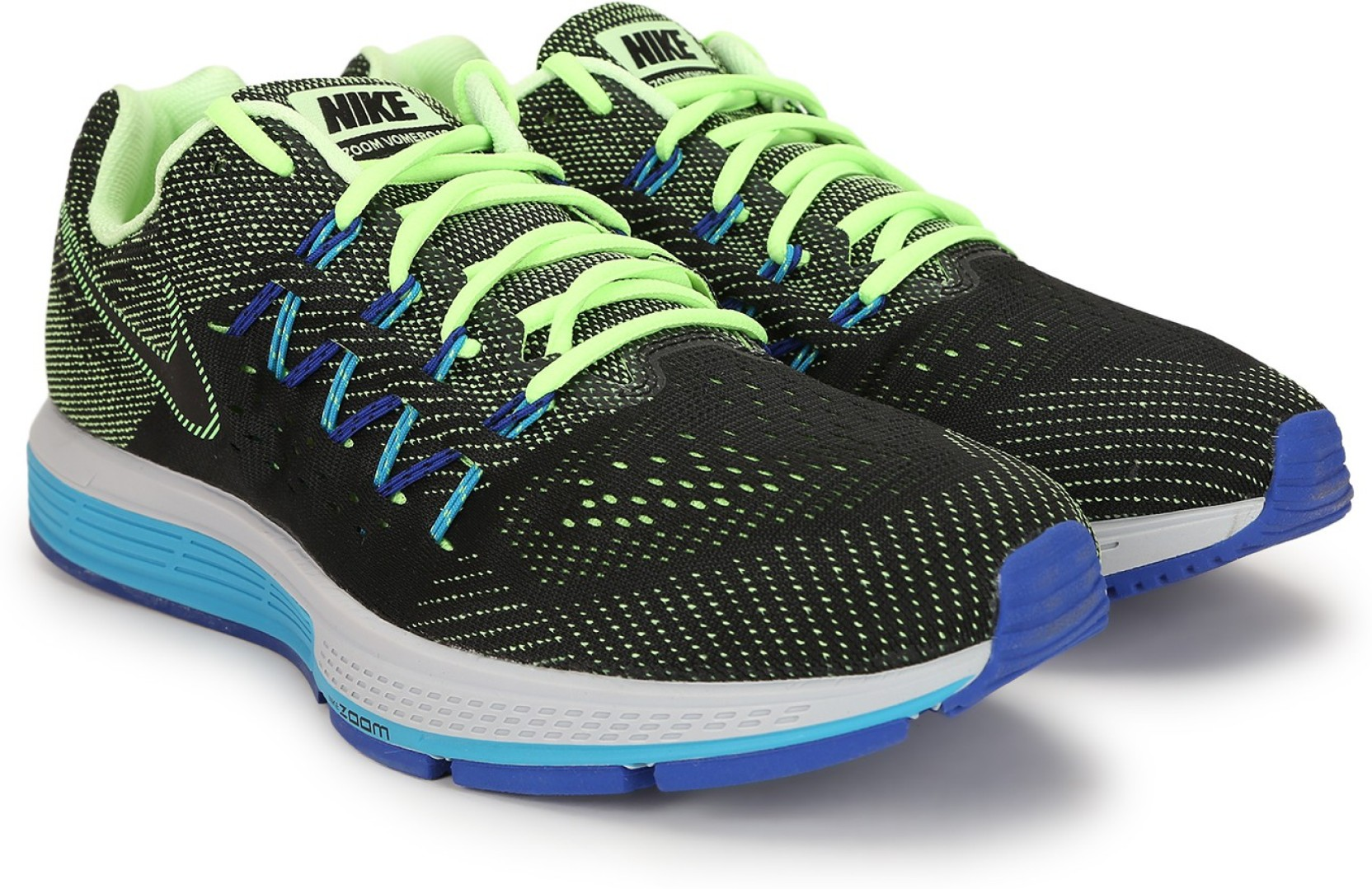 15fc8c4c7263 Nike AIR ZOOM VOMERO 10 Running Shoes For Men - Buy Ghost Green ...