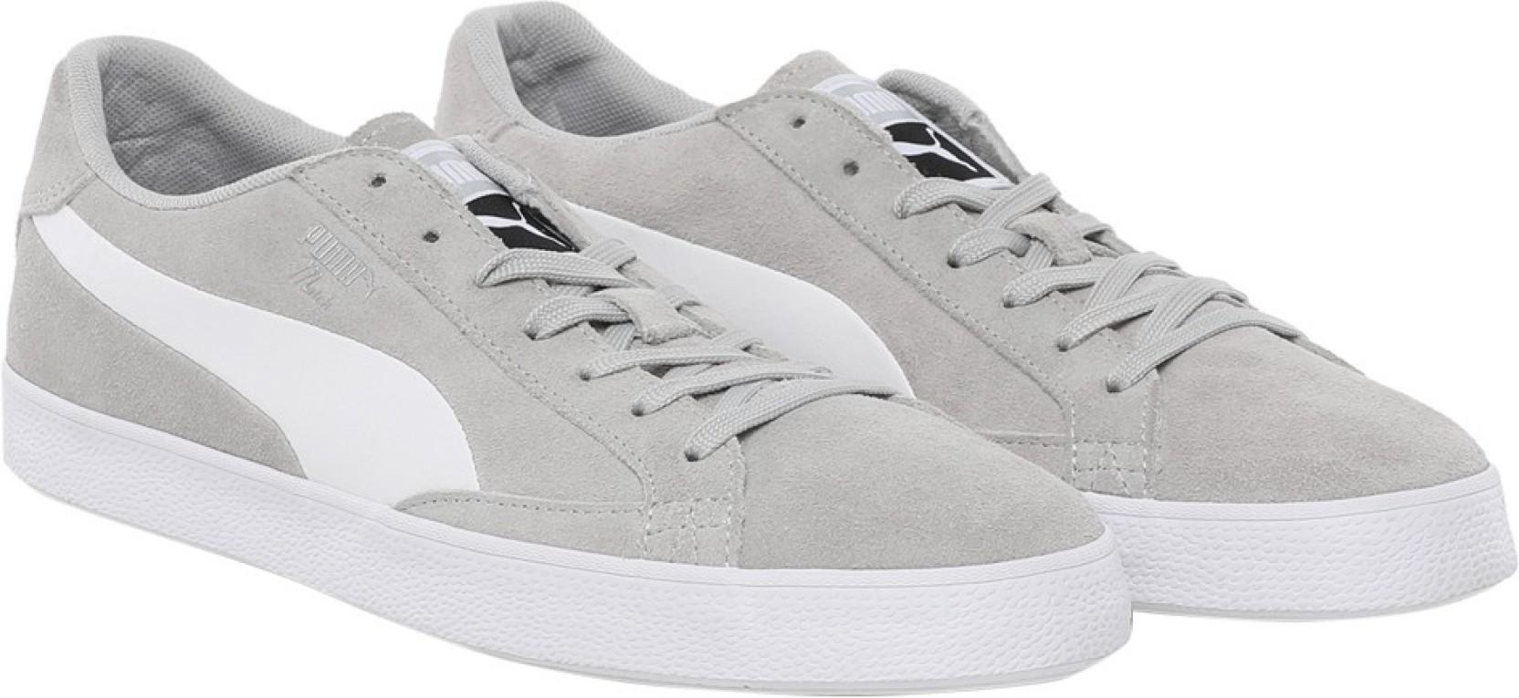 bd39b0a431c Puma Match Vulc 2 Sneakers For Men - Buy Gray Violet-Puma White ...