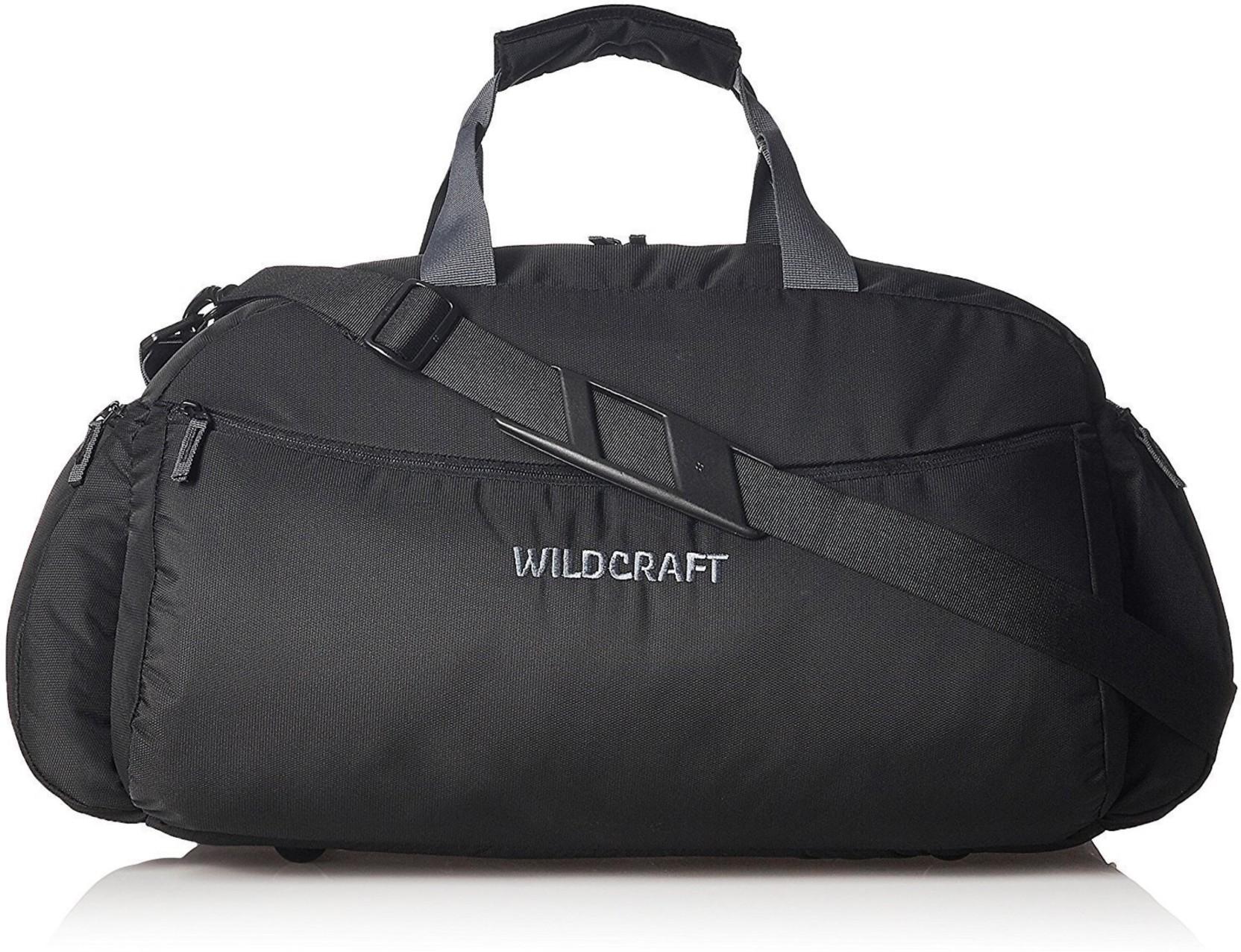 b57cc6fed5 Wildcraft 13464 inch 34199 cm Orbit Nova 2 Black L Duffle Travel Duffel Bag  (Black)