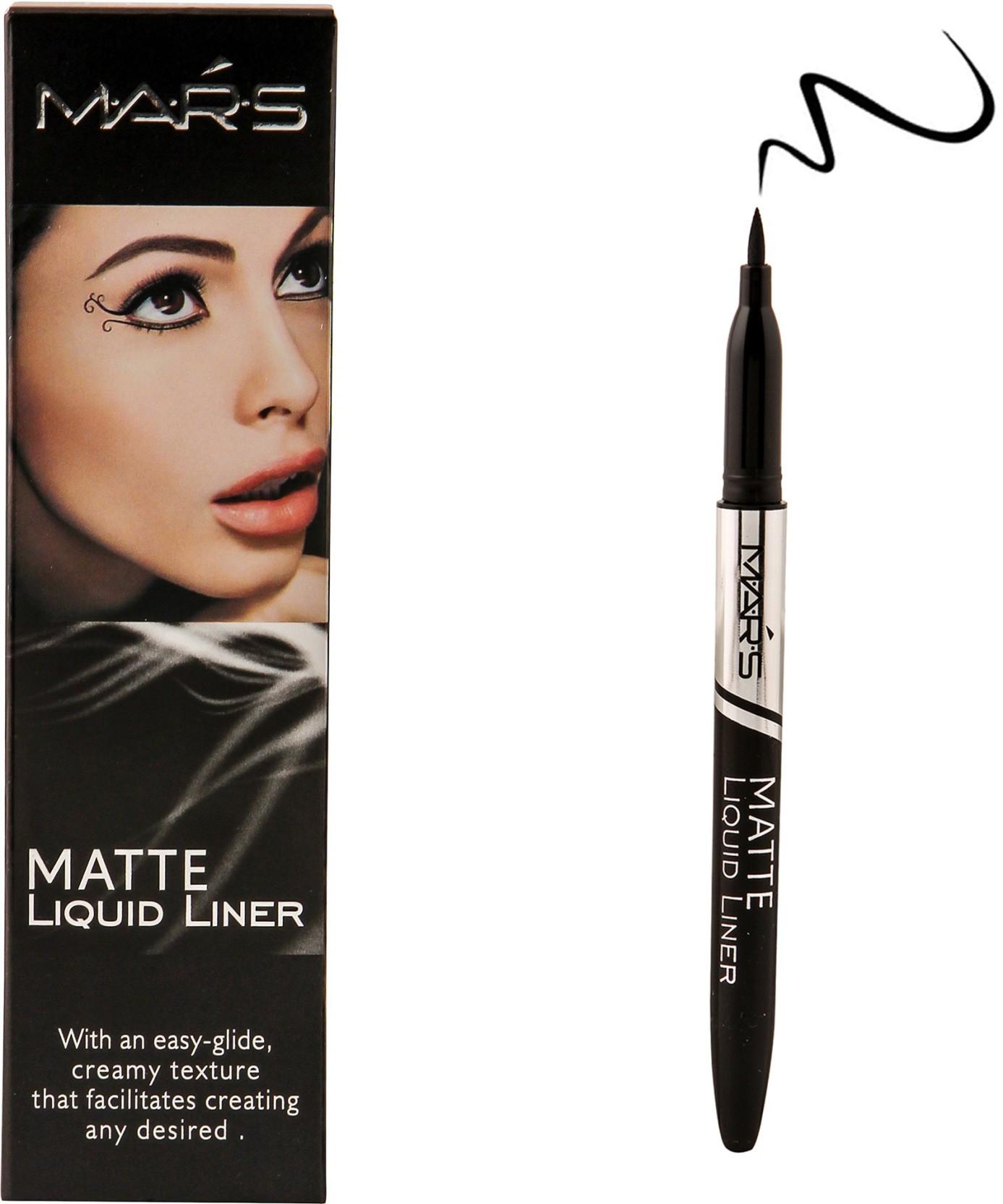 Mars Matte Smudge Proof Long Lasting Eyeliner 3 Ml Price In India Maybelline Hyper Ink Liquid Liner On Offer