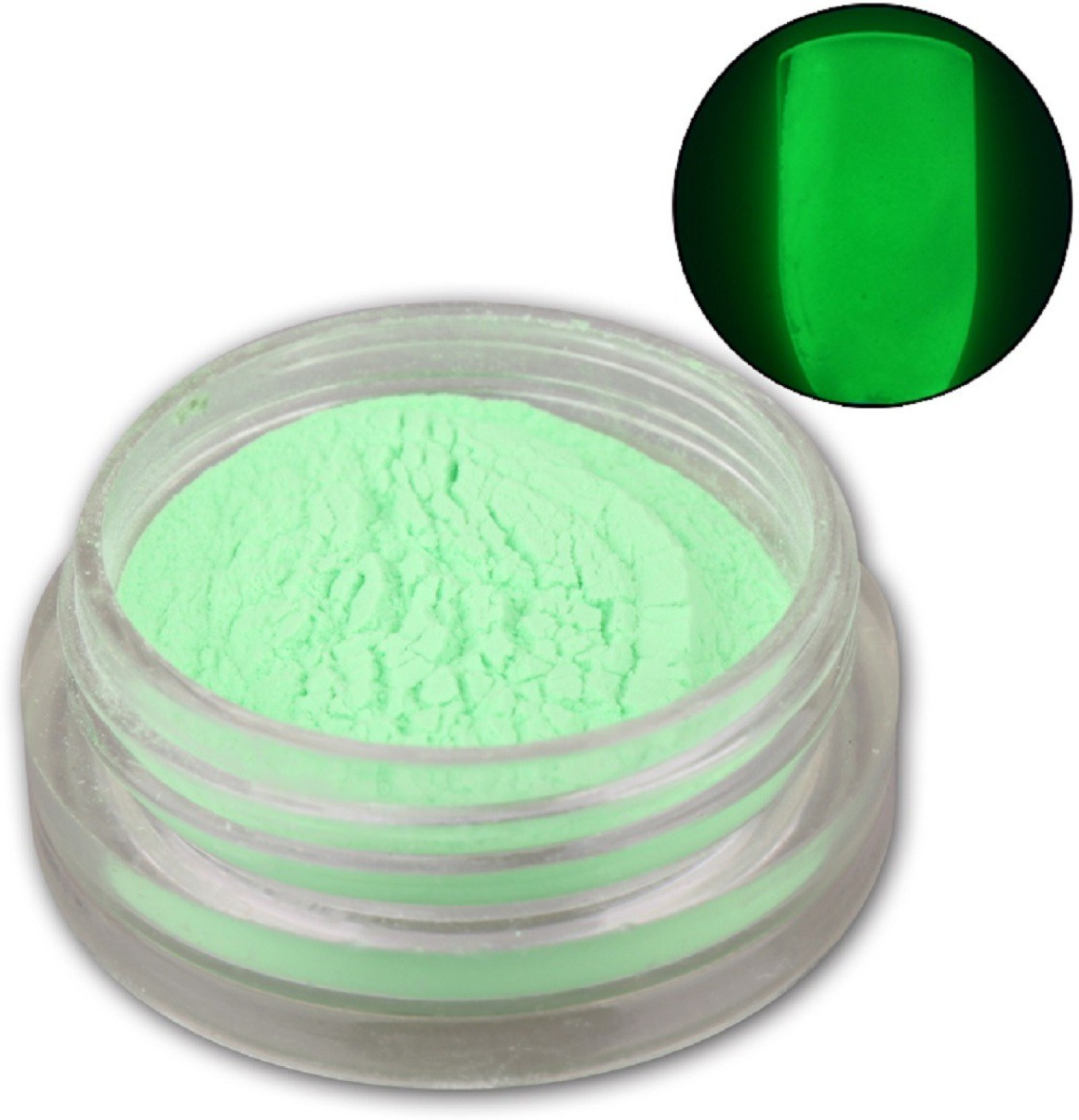Born Pretty 1 Box Neon Phosphor Powder Nail Glitter Powder Green Color Dust  Luminous Pigment Fluorescent Powder Nail Glitters Glow in the Dark  1 Green  ... 66071f055bf4