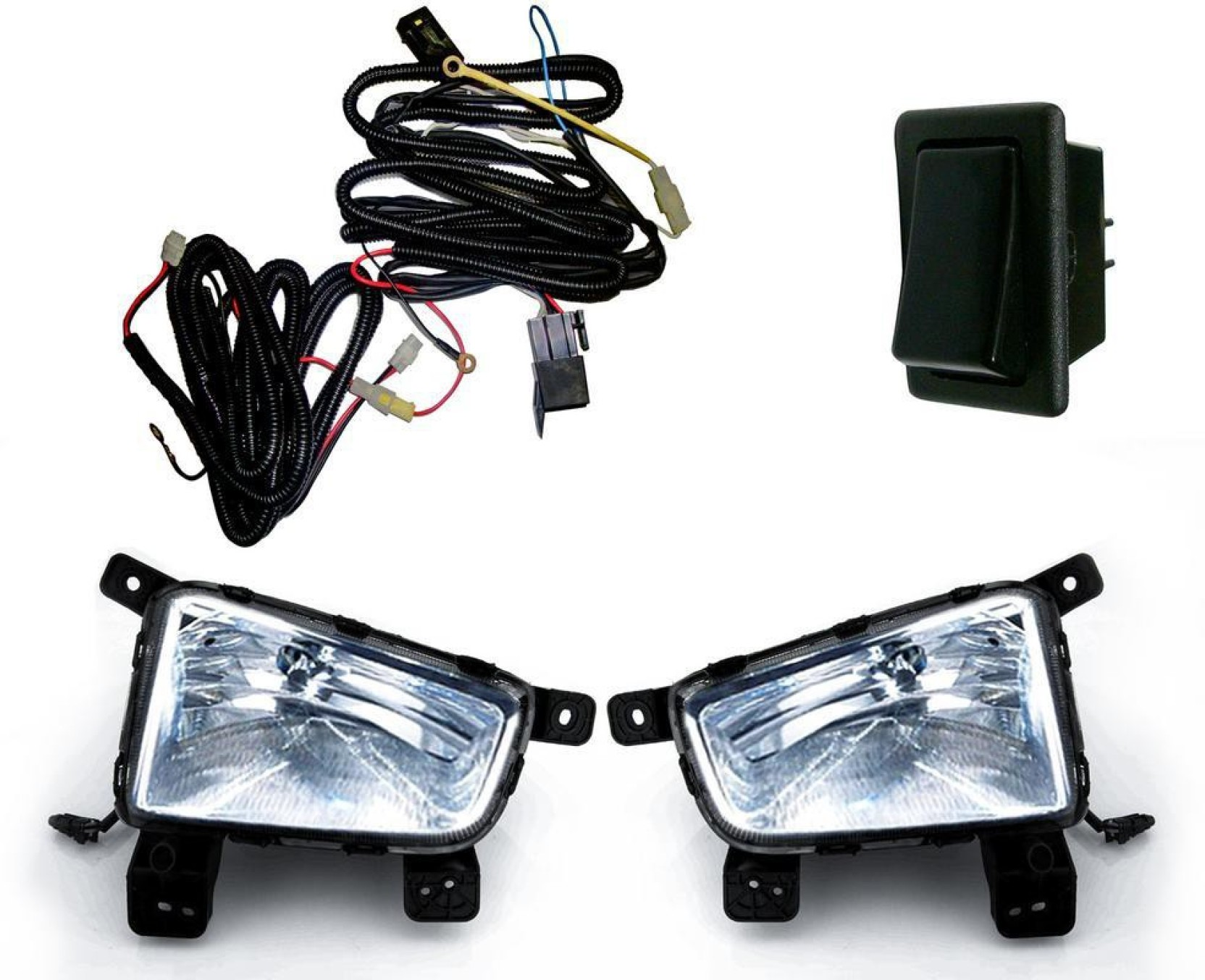 Auto Pearl Halogen Fog Lamp Unit For Hyundai Creta Price In India Oval Lights Driving Lamps W Wiring Kit Fits Most Cars Trucks Share
