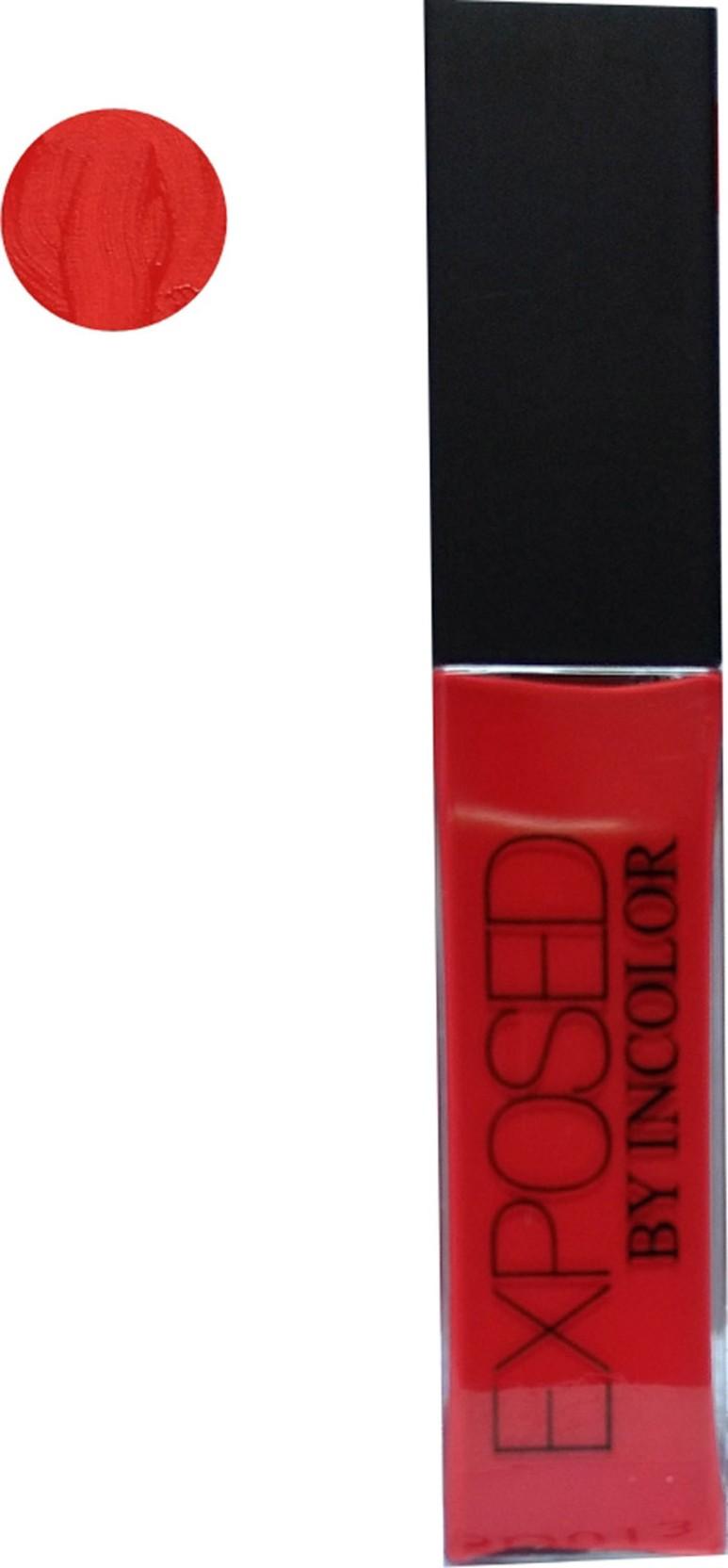Incolor Exposed Soft Matte Lip Cream Lipstick Price In India Buy Lipcream Lipstik On Offer
