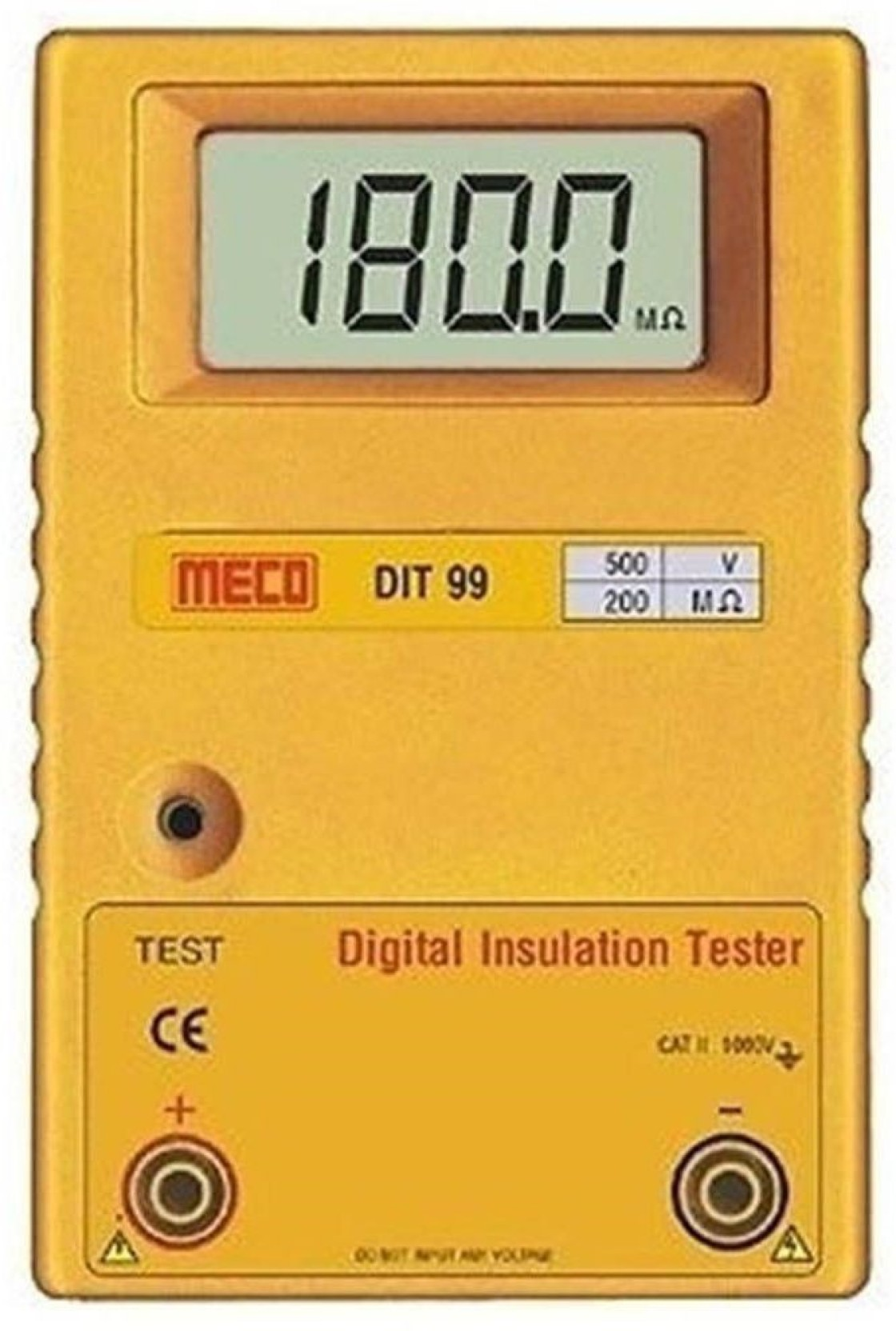 Meco Dit 99c Insulation Tester Alongwith Calibration Certificate Com Buy Ac90 1000v Induction Type Ac Circuit Detector Voltage Add To Cart Now