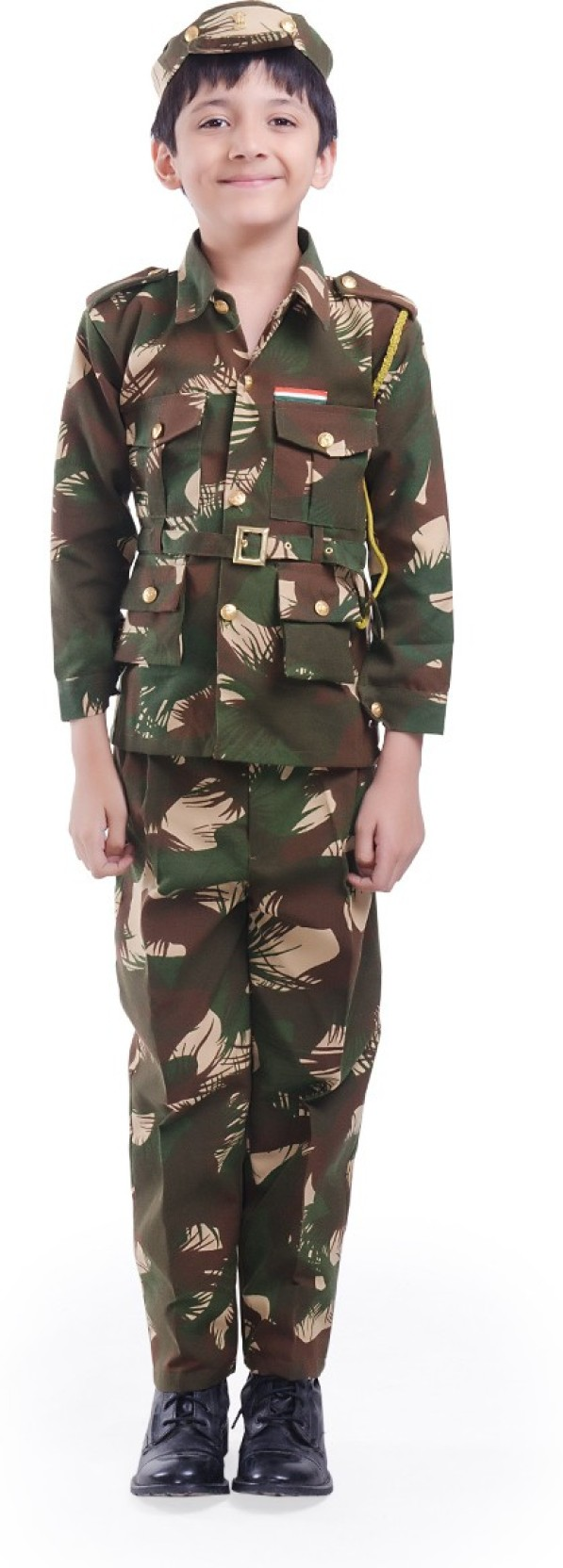 8db9c43804b Fancydresswale Army Kids Costume Wear Price in India - Buy ...
