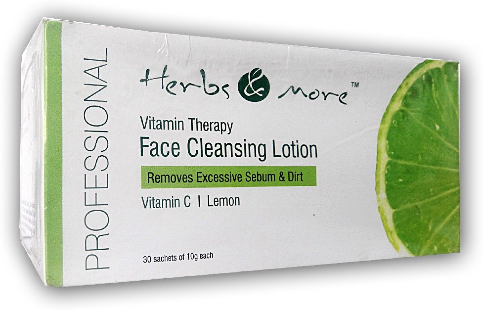 HERBS AND MORE Face Cleansing Lotion 30 Sachets - Price in