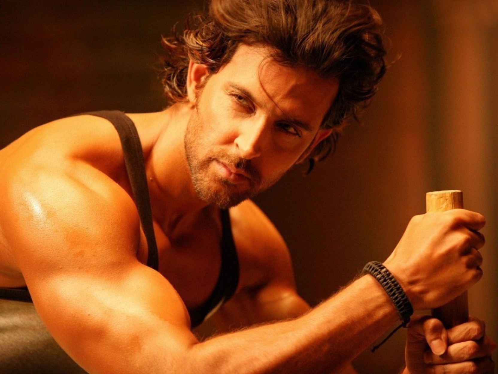 wall poster hrithik roshan body paper print - personalities posters