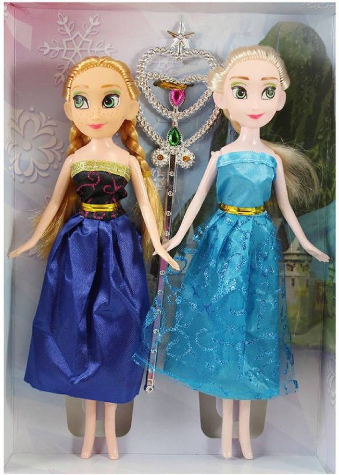 "Disney FROZEN ANNA DOLL CLASSIC COLLECTION 12/"" PRINCESS ELSA SISTER ORIGINAL"
