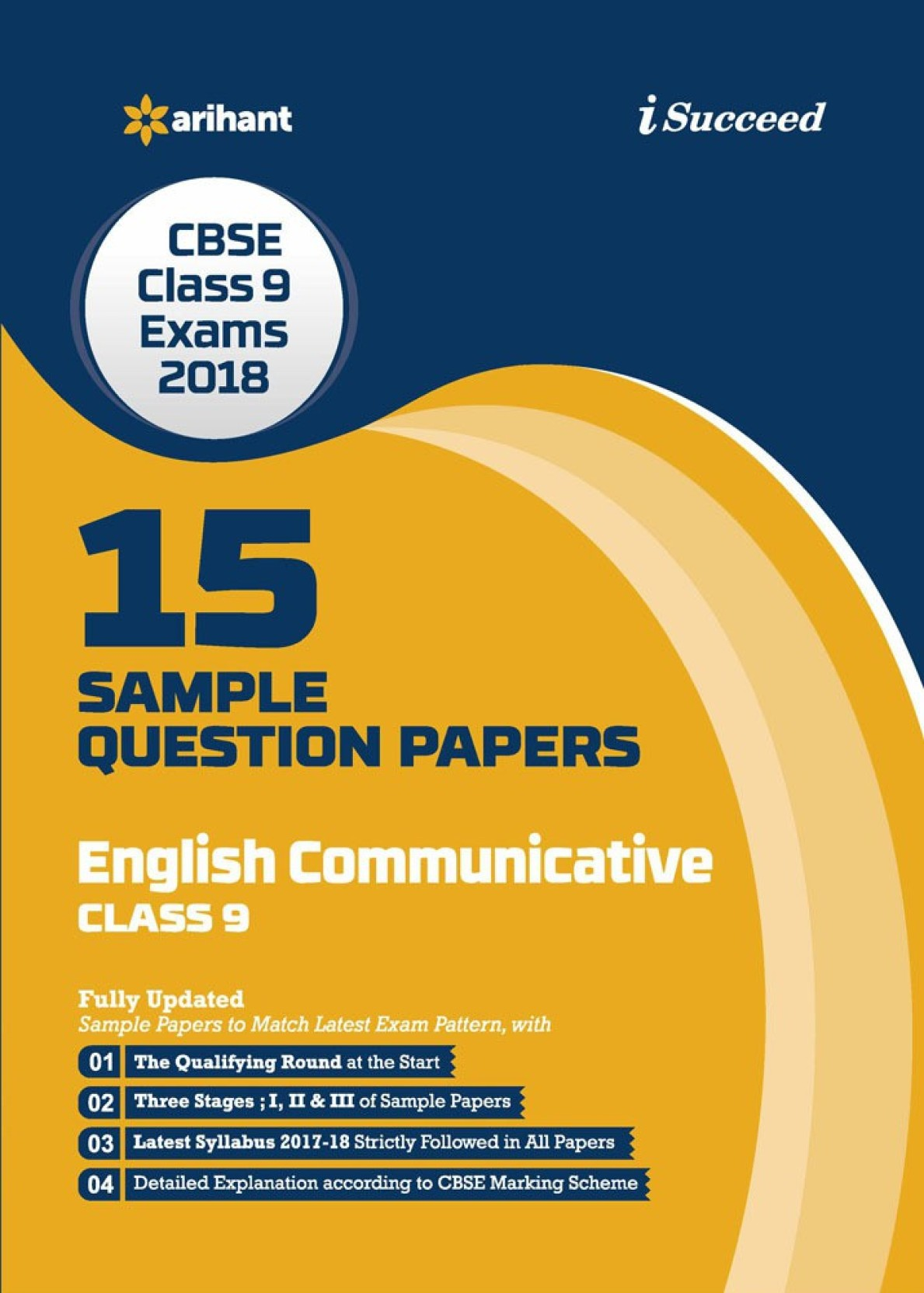 ... Class 9th Exam 2018 15 Sample Question Papers English Communicative.  Share