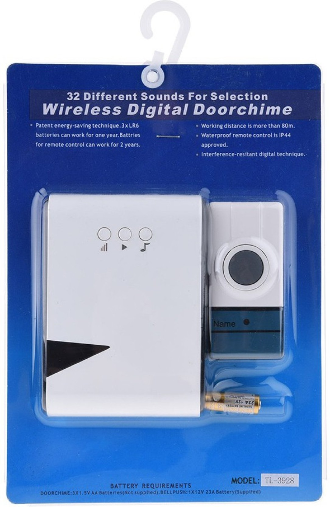 Axcess TL-2938 Wireless Door Chime