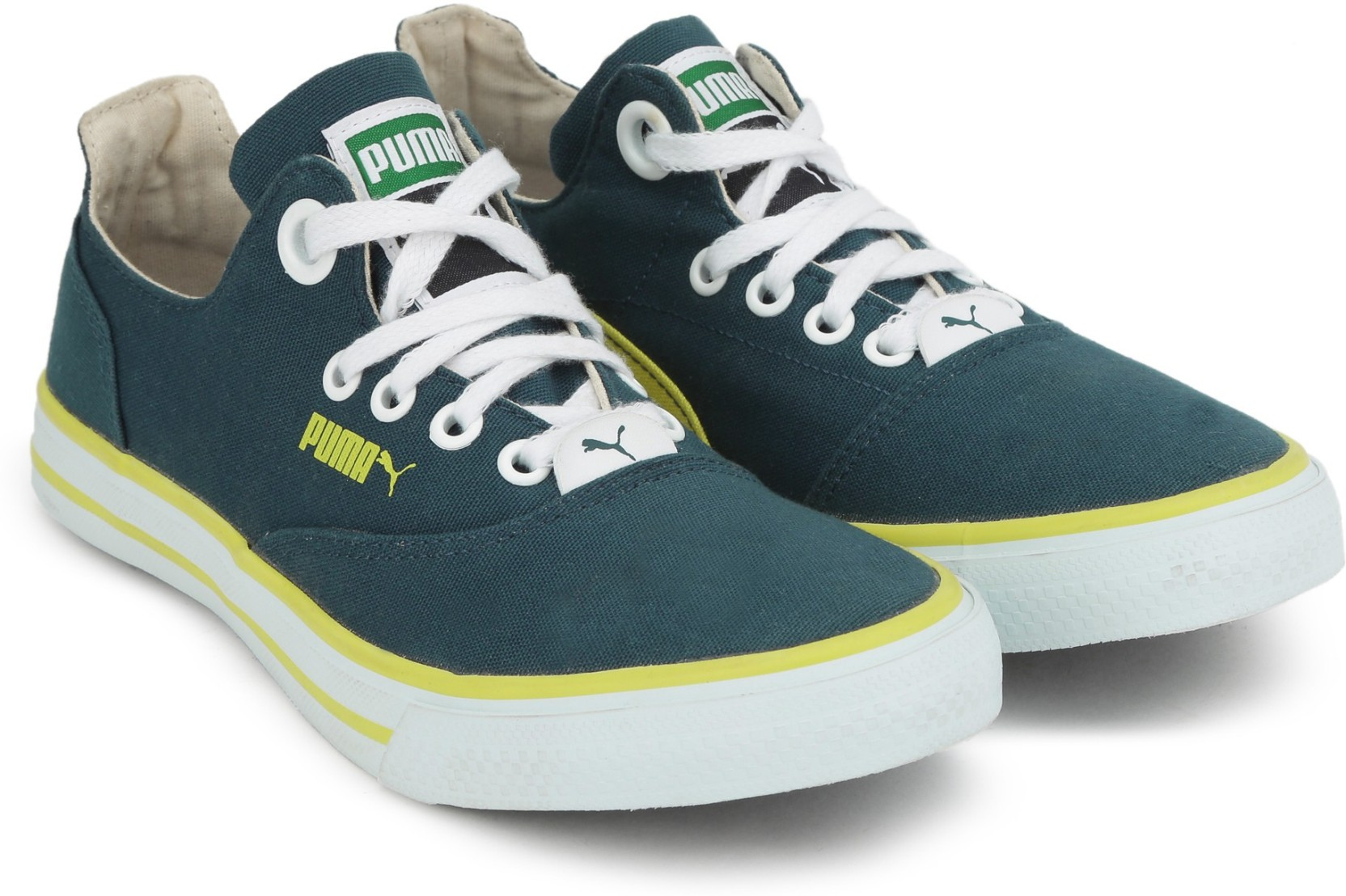 Puma Limnos CAT 3 DP Canvas Sneakers For Women - Buy blue wing teal ... b8e7e536d5