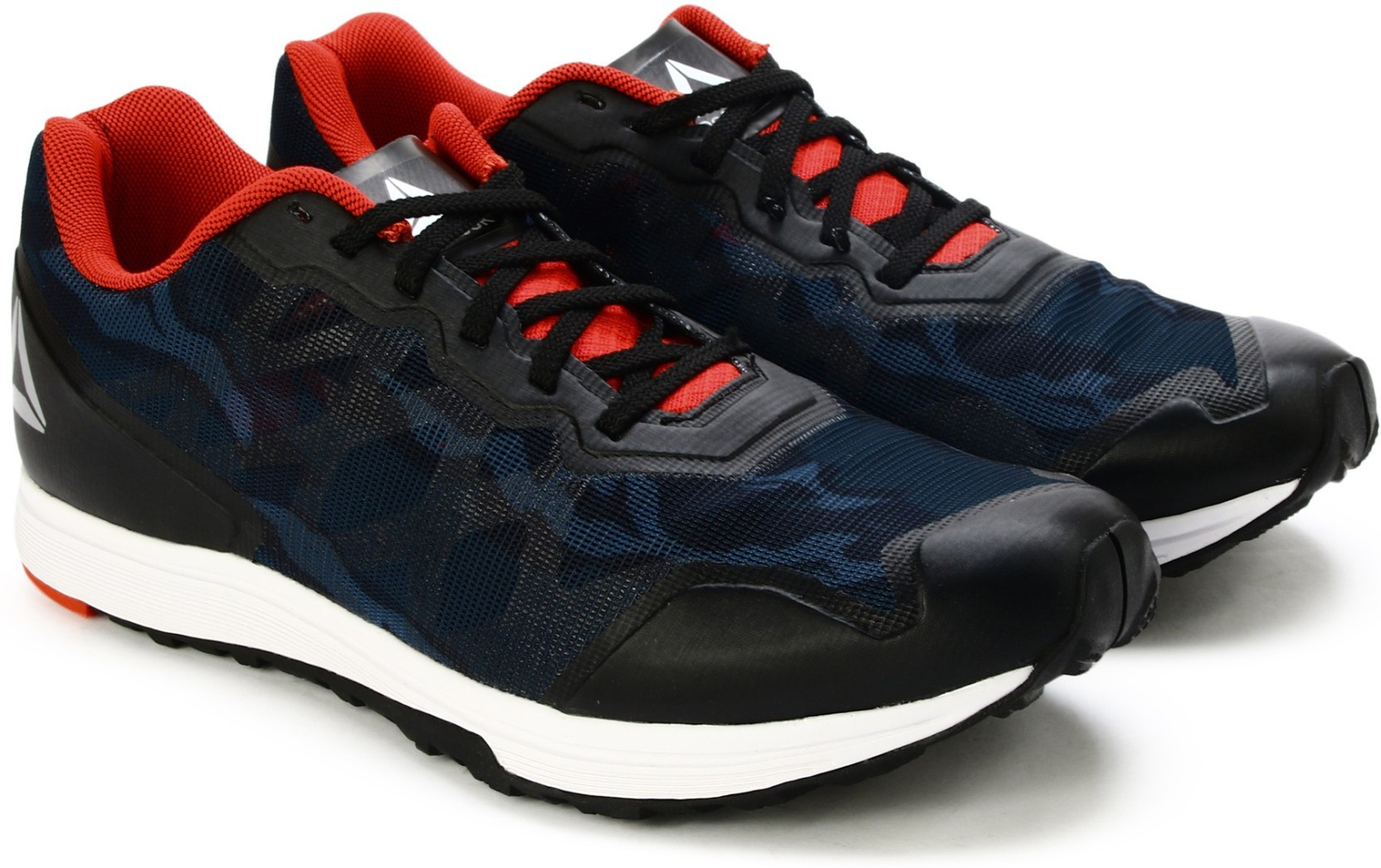 REEBOK SPRINT TRAIN Running Shoes For Men - Buy BLACK GLOW RED METIL ... a1a74dcb2