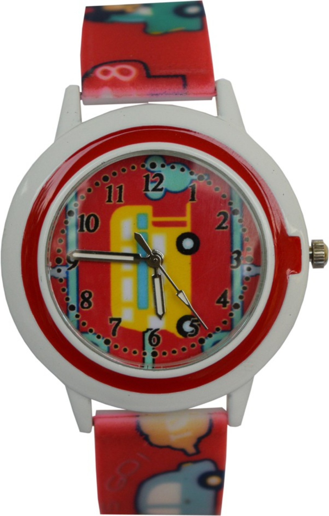 Creator TM Supper Car New Round Dial Birthday Gifts Sent As Per