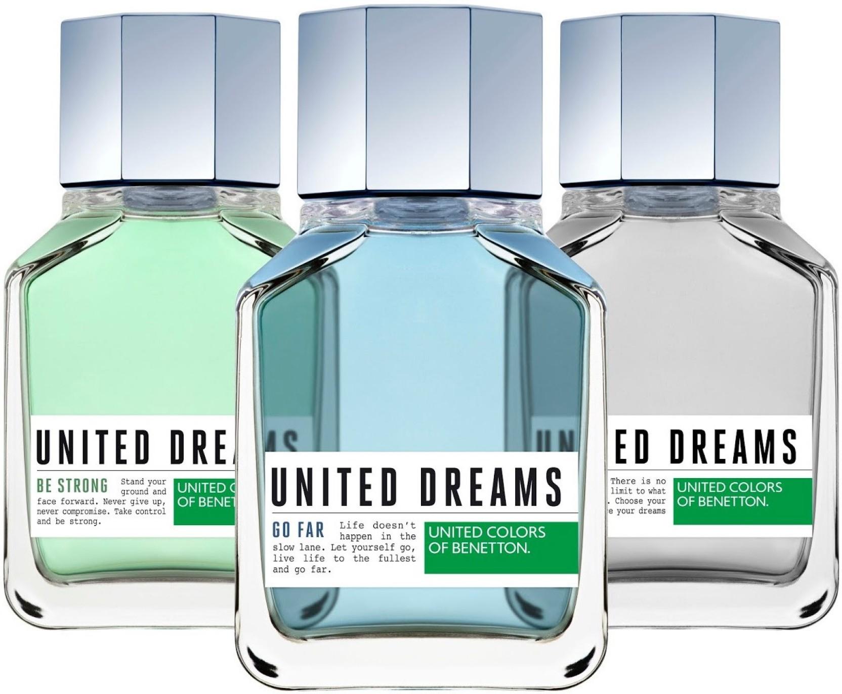 Buy Benetton United Dreams Eau De Toilette 300 Ml Online In India