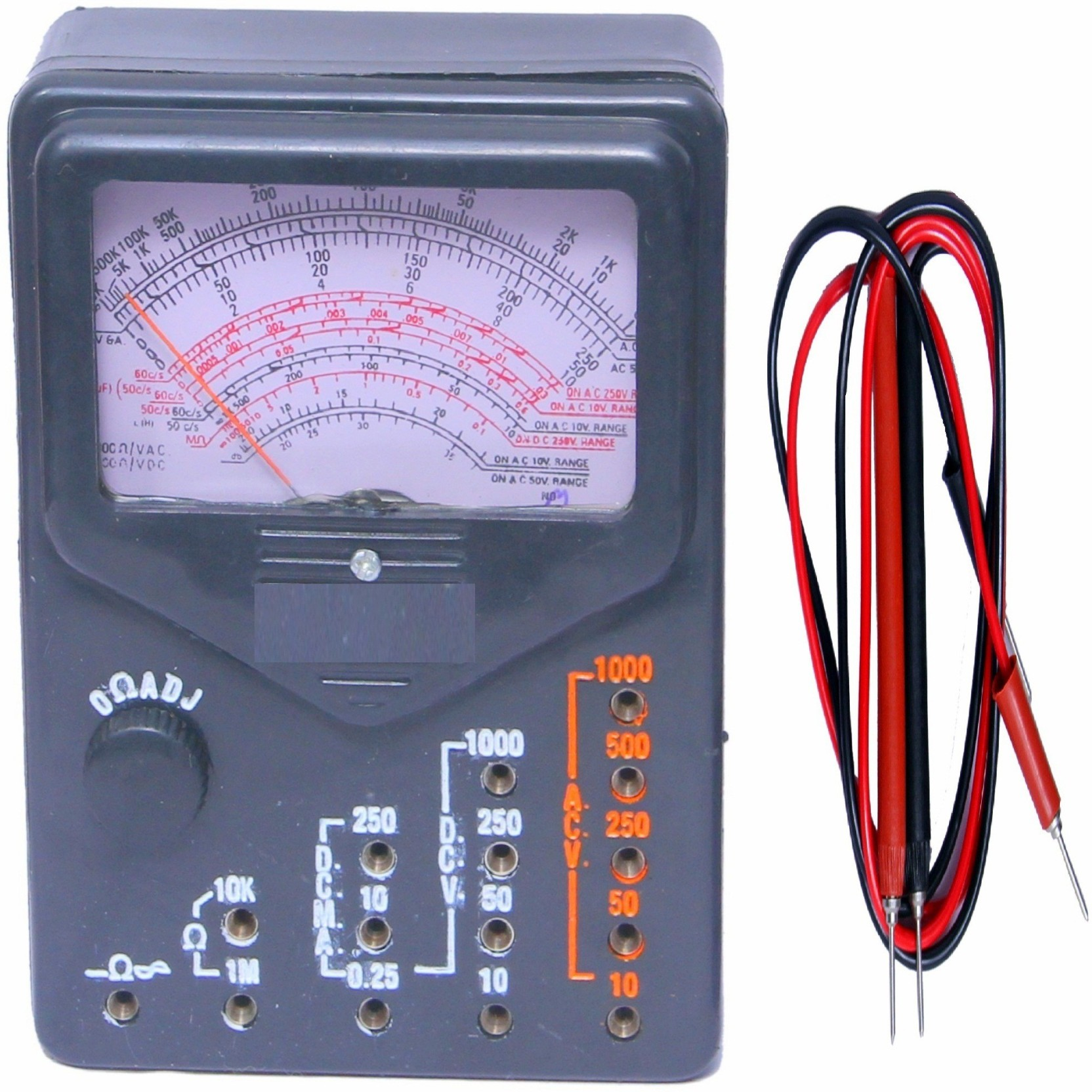 Balrama Multi Tester Vom Volt Ohm Milliammeter Electronic Com Buy Ac90 1000v Induction Type Ac Circuit Detector Voltage Home