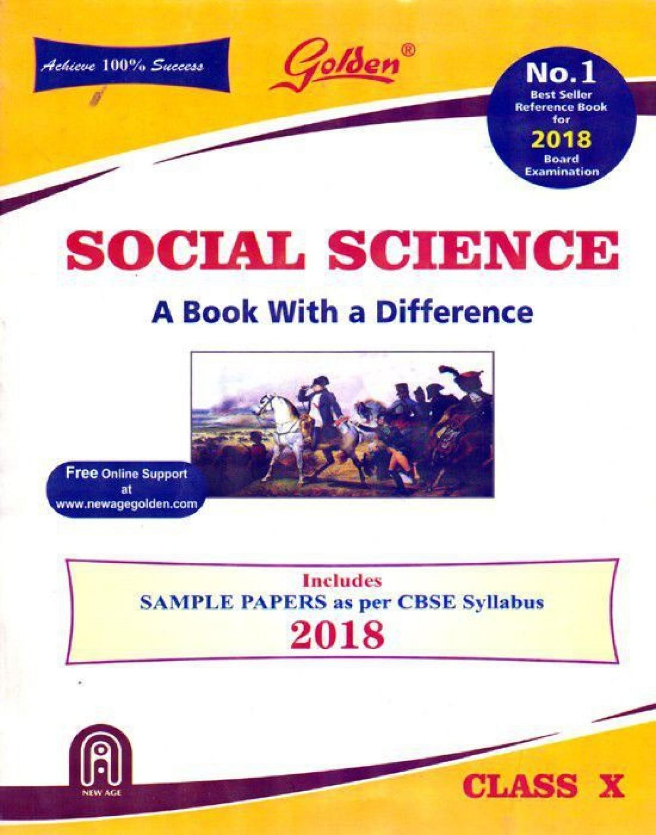 Golden Social Science Class - 10. Share
