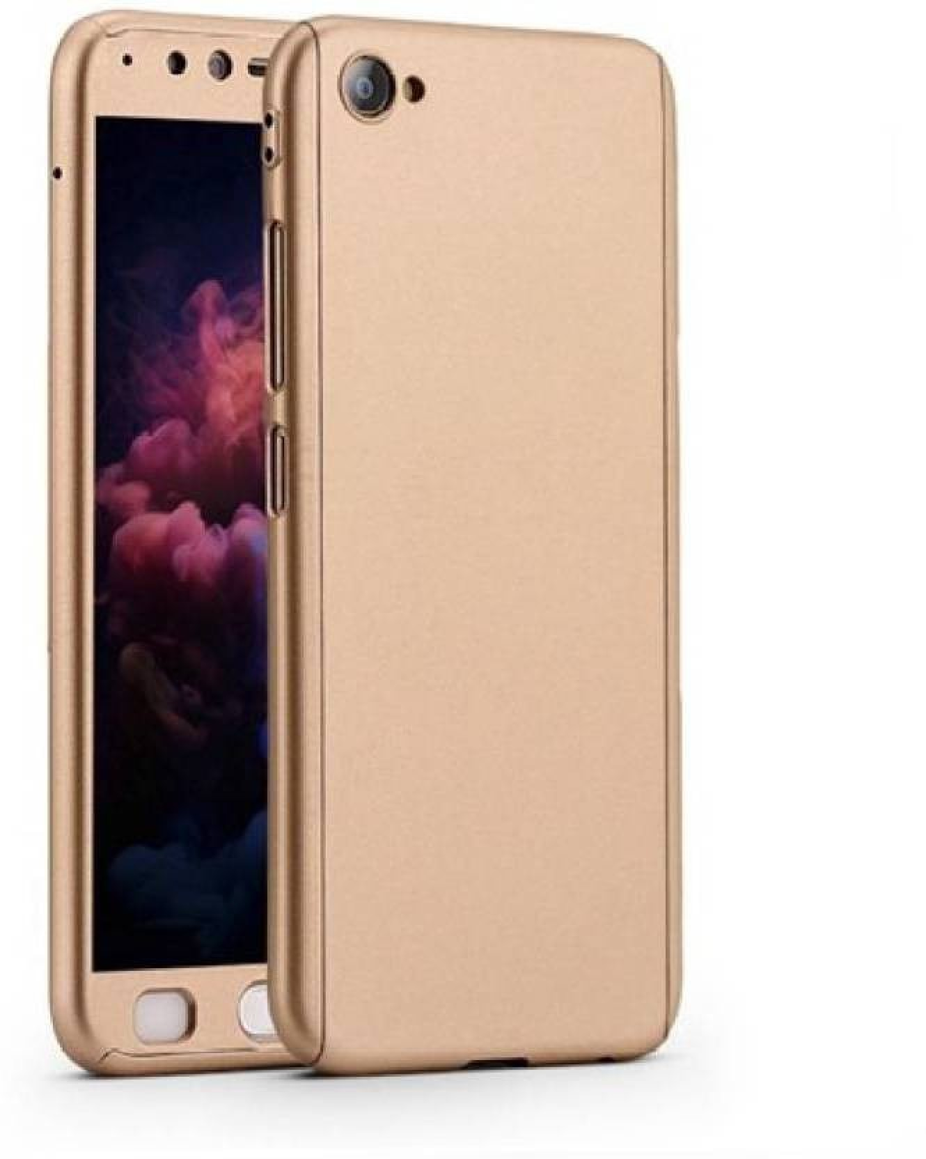Creatimake Front Back Case For Vivo Y53 Ipaky 360 Degree Full Body Xiaomi Mi Max Gold Home