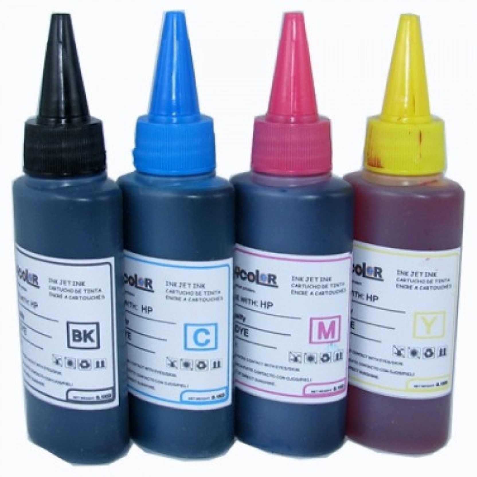 Blue Streak Refill Ink For Use In Brother Dcp J125 Printer Black Tinta Lc 583 Original Compare