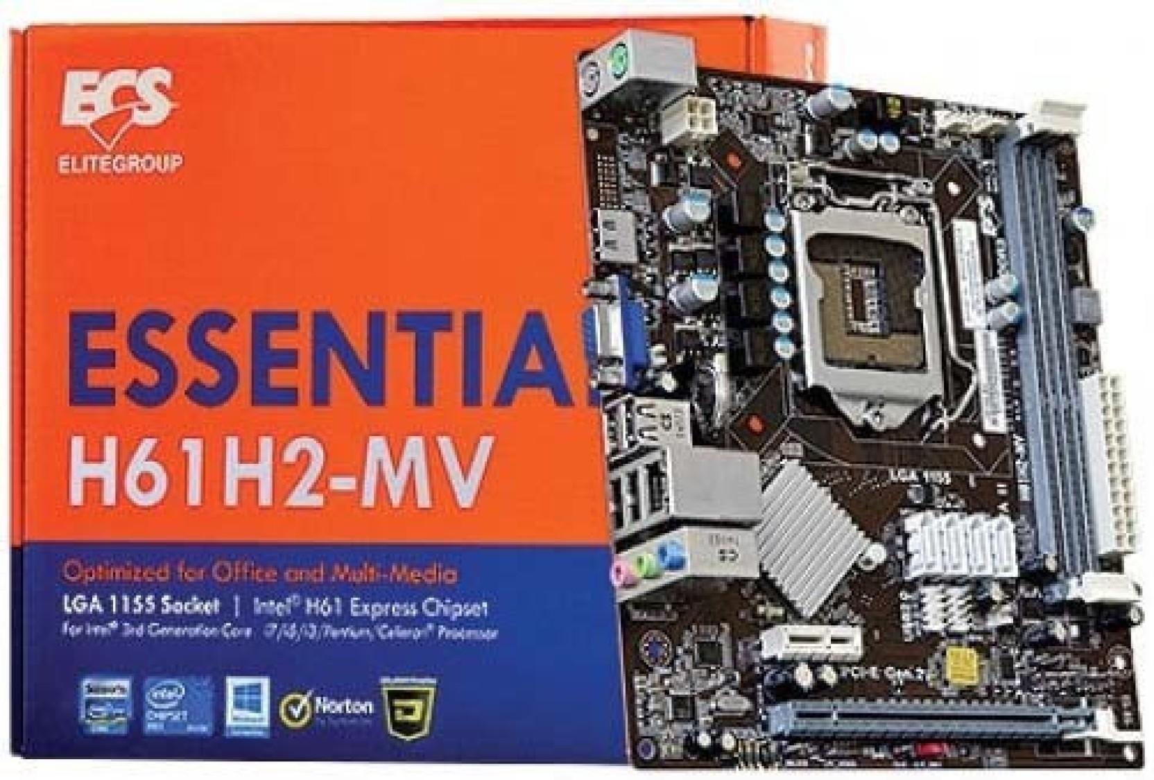 ECS H61H2-MV Motherboard - ECS : Flipkart com