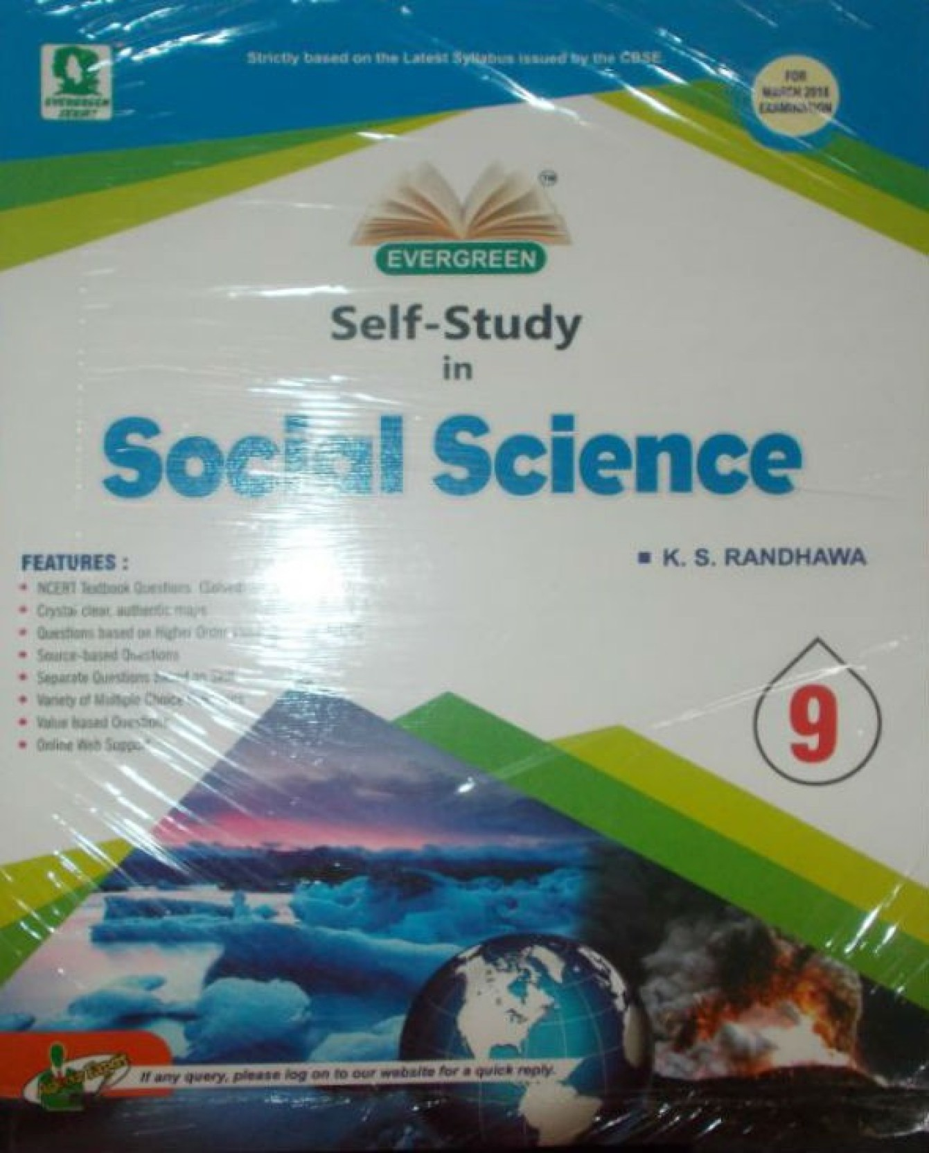 CBSE Evergreen Self-Study in Social Science Class 9 Term I 01 ...