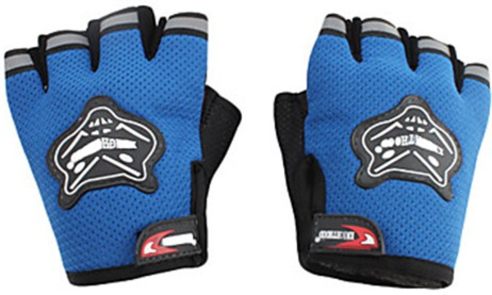 Knighthood 1 Pair Of Half Hand Grip For Bike Motorcycle Scooter Rider Sport Boxer R 383 On Offer