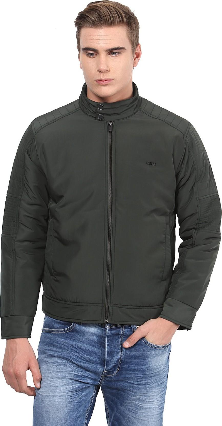 8ab49dcea Okane Full Sleeve Solid Men's Jacket