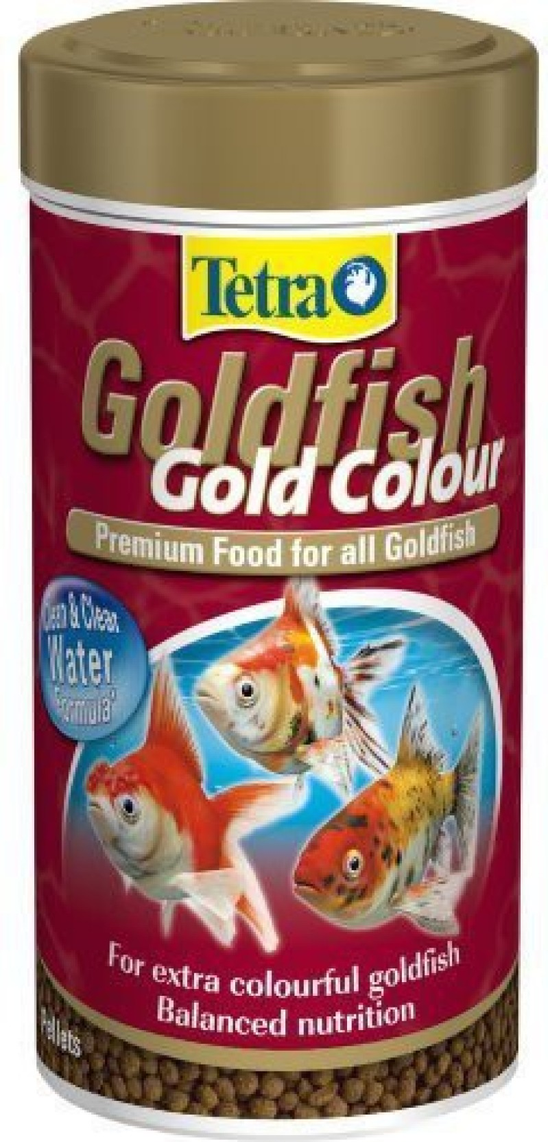 Tetra goldfish gold color 250 ml Dry Fish Food Price in India - Buy ...