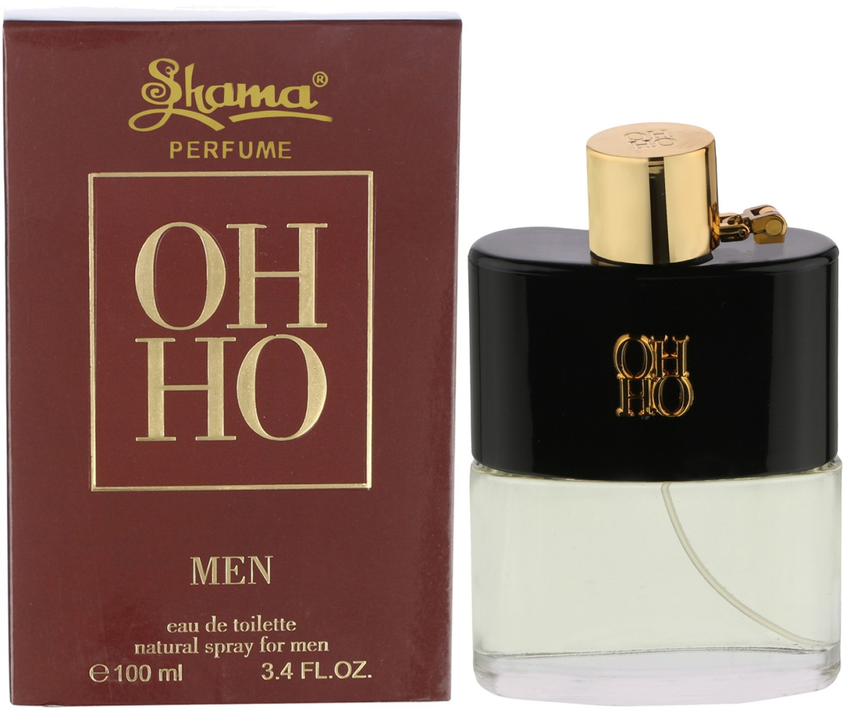 Buy Shama Oh Ho Natural Perfume Spray For Men Women Eau De Benetton Cold Edt 100ml Original Free Vial Home