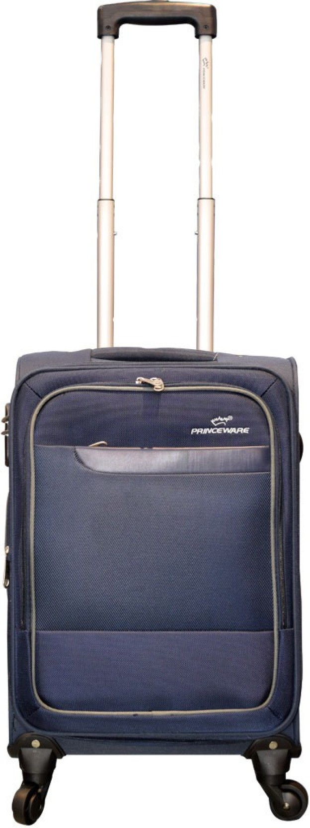 9be6bc0db828c9 Princeware JORDAN Expandable Cabin Luggage - 20 inch Navy Blue ...