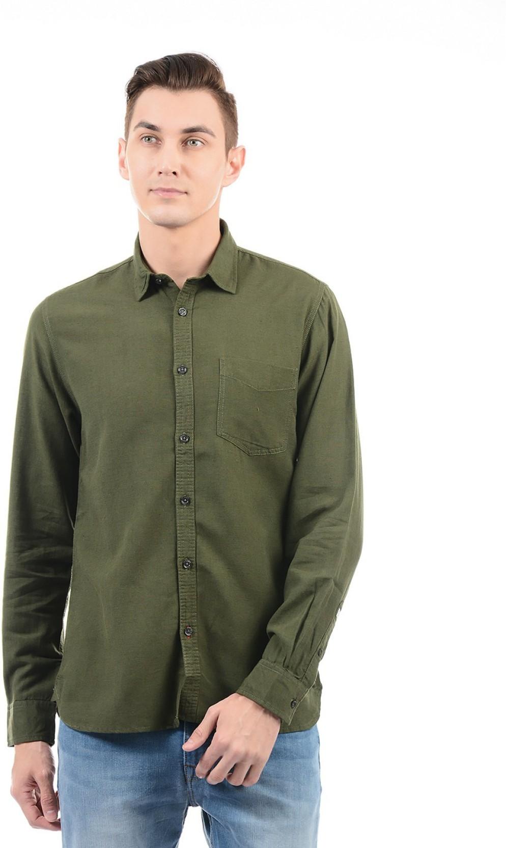 21987c98546f7 Pepe Jeans Green Shirt