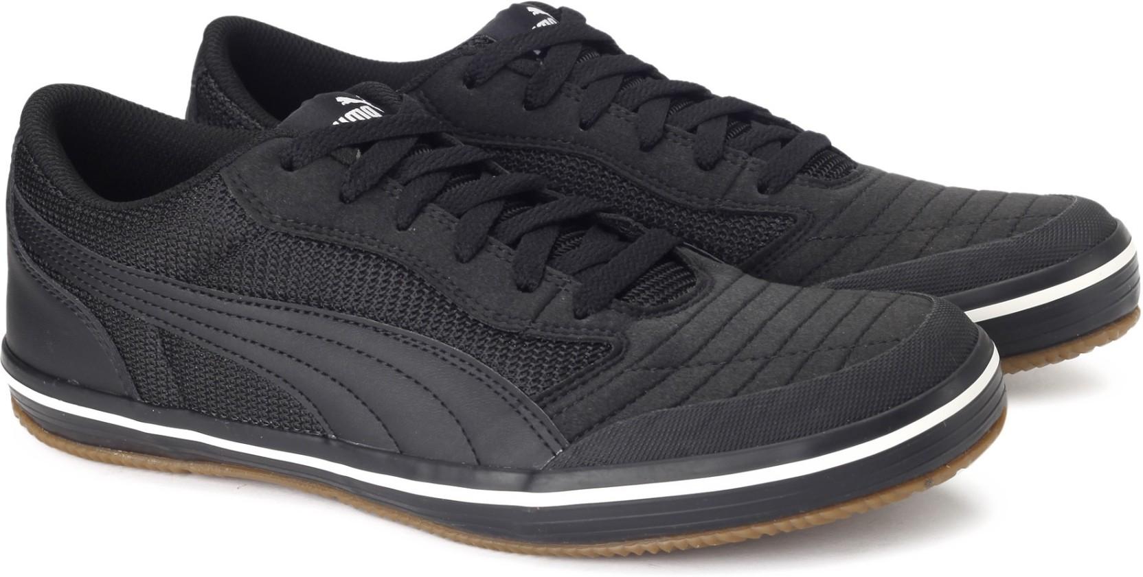 Puma Astro Sala Sneakers For Men - Buy Puma Black-Puma Black Color ... e957f35731a2