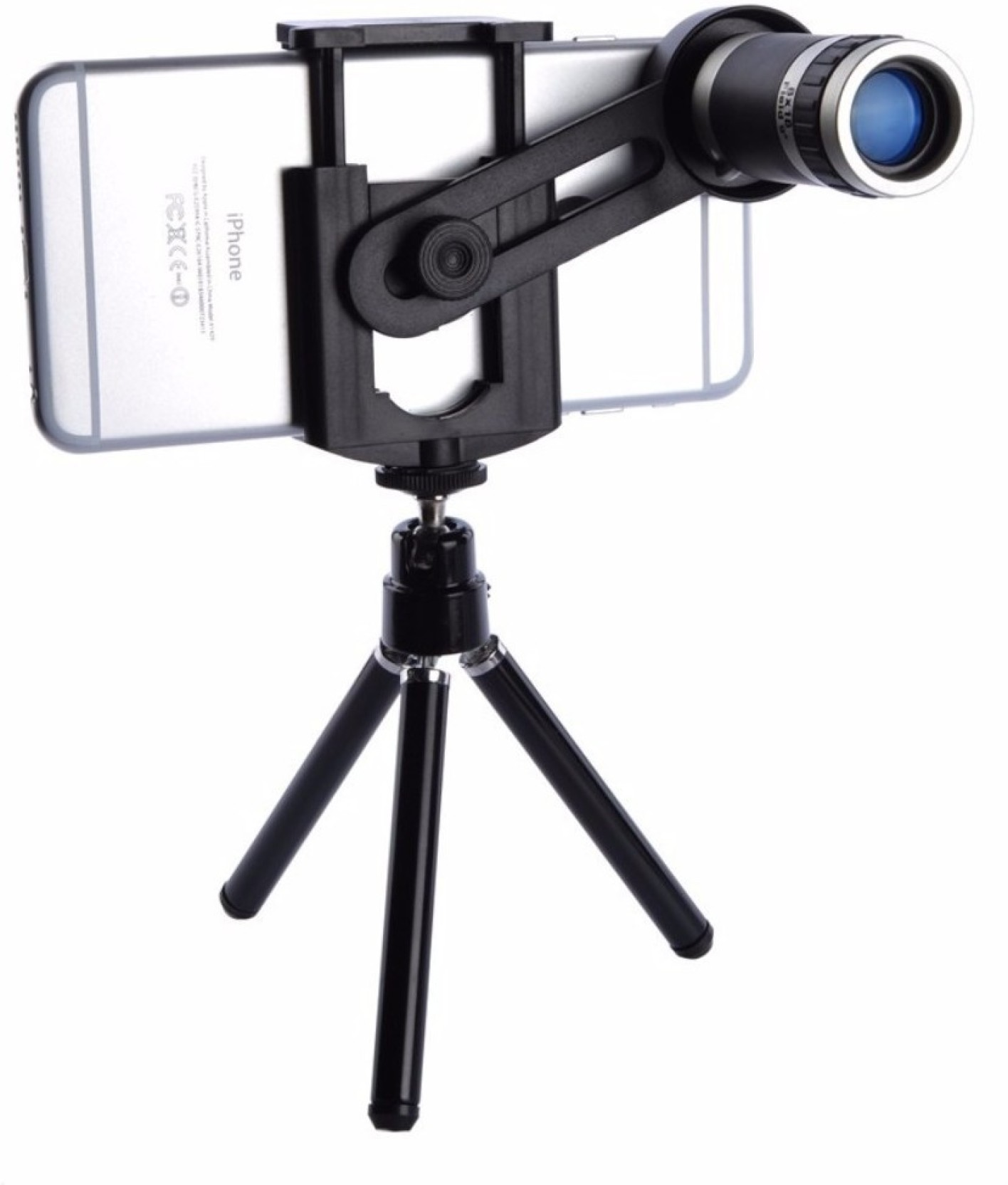 new product 133d2 221ff Easypro ™ Xiaomi Mi A1 Compatible Universal 8X Zoomer Optical Zoom  Telescope Mobile Camera Lens Kit with Tripod and Adjustable Holder(Limited  Stock) ...