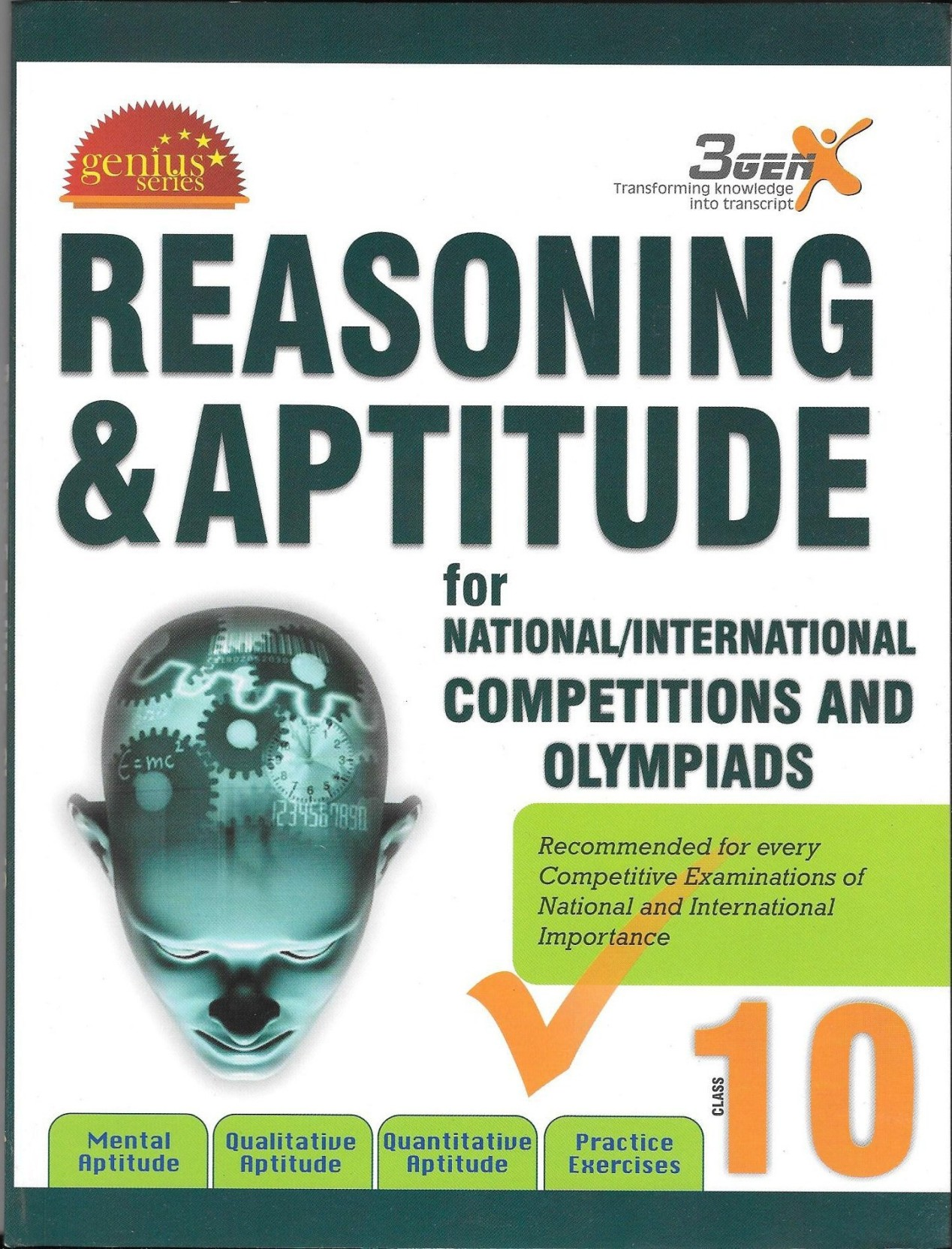 Olympiad Excellence Guide Reasoning & Aptitude Class 10. ADD TO CART