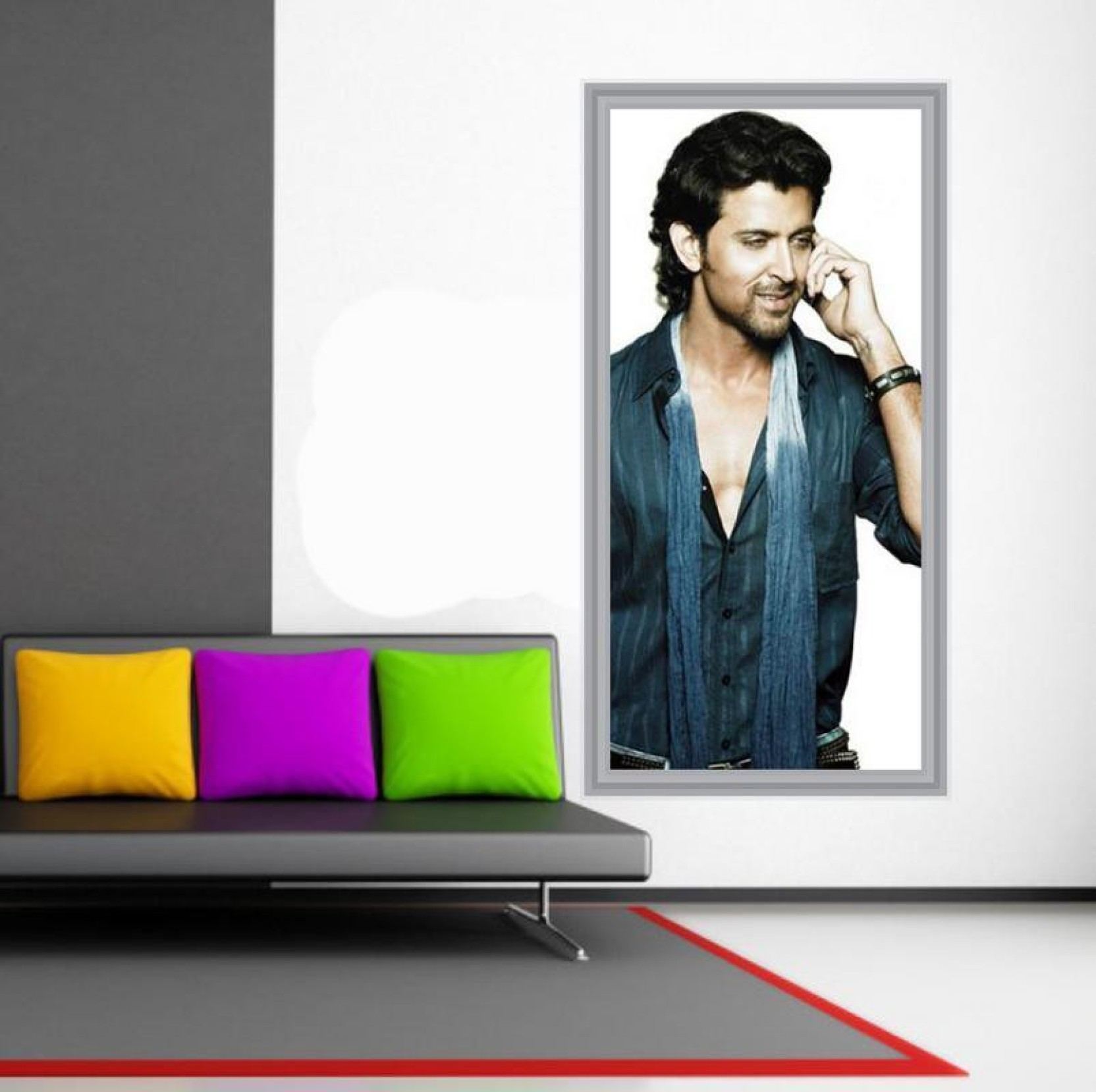 hrithik roshan wall poster paper print - personalities posters in