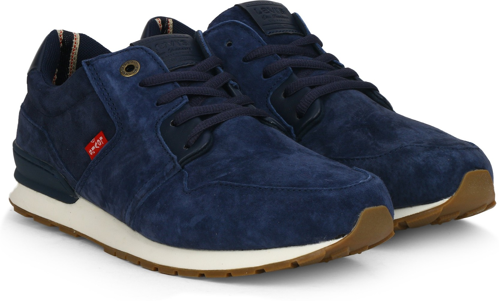 61faf254e35 Levi's NY RUNNER Sneakers For Men - Buy NAVY BLUE Color Levi's NY ...