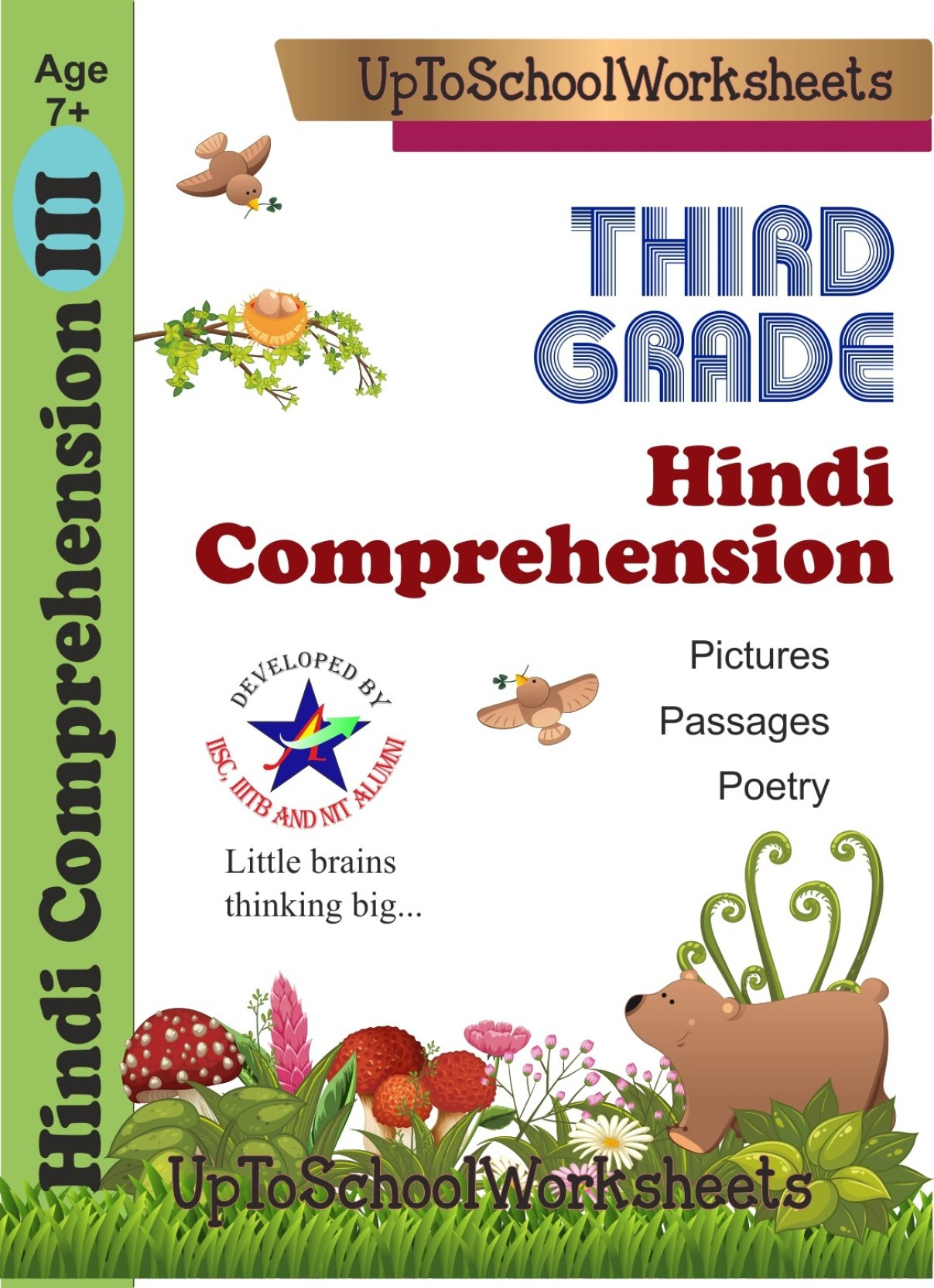 Hindi Comprehension for Kids Reading Unseen Passages and ...
