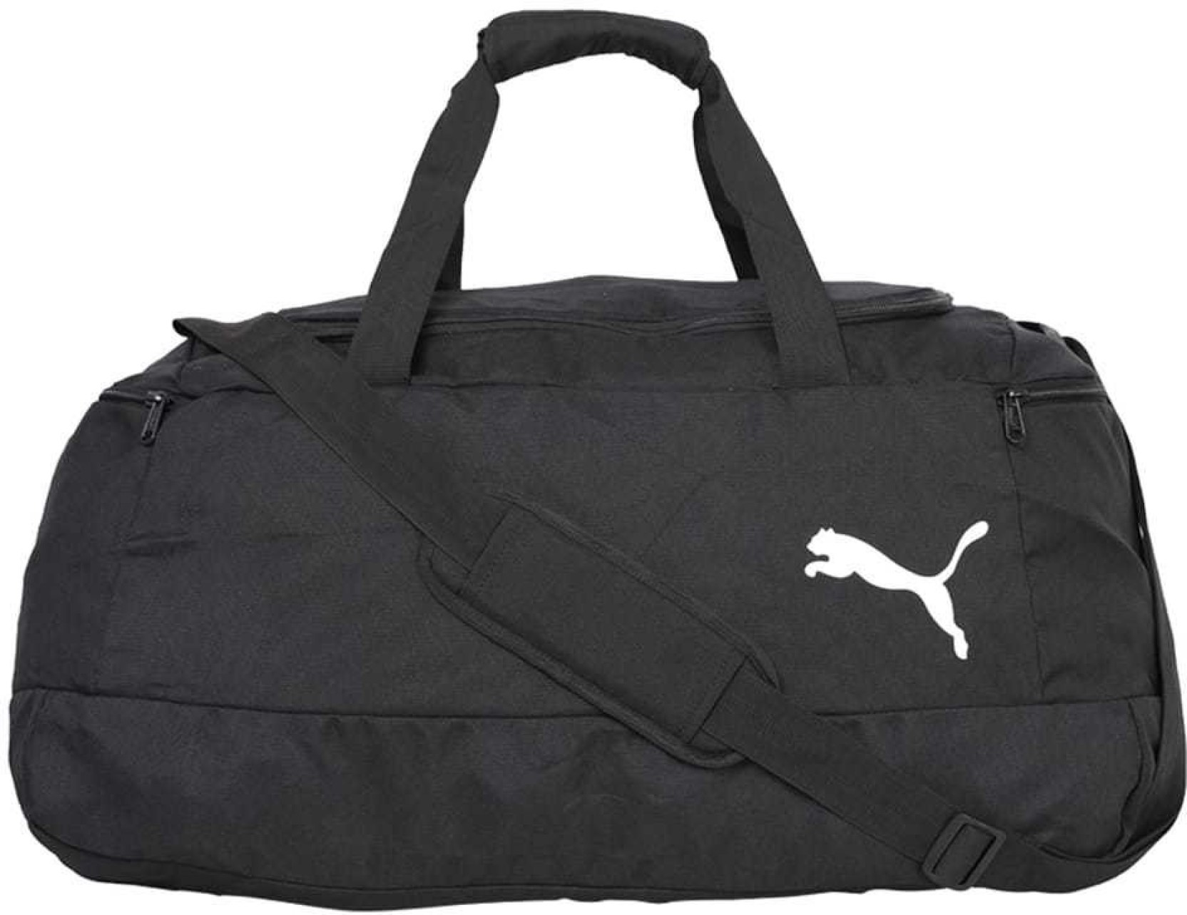 f0527fe06d18 Puma Pro Training II Medium Bag Gym Bag Black - Price in India ...