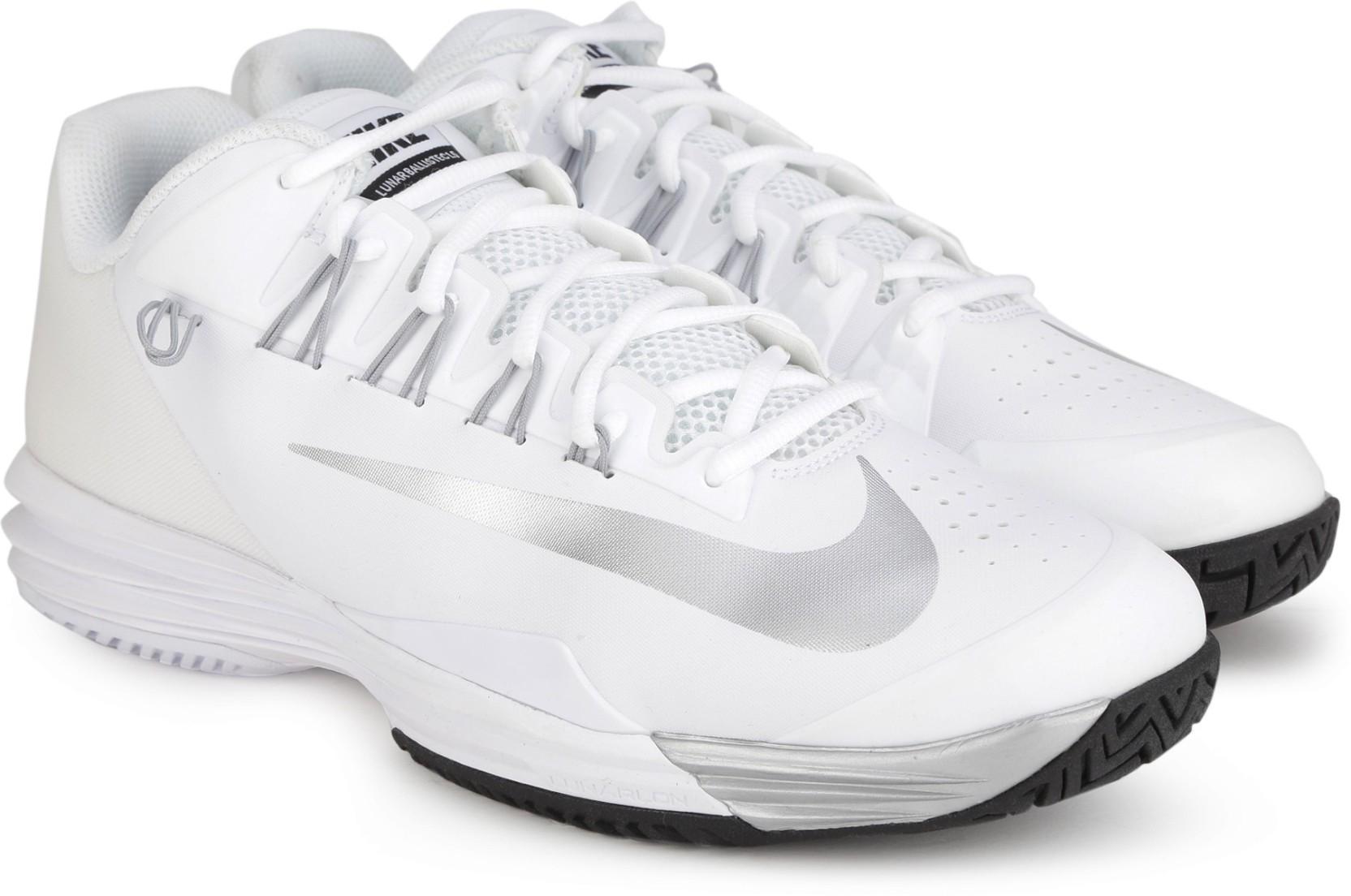 3a8cbfd5df09 ... Nike LUNAR BALLISTEC 1.5 Tennis Shoes For Men (White) ...