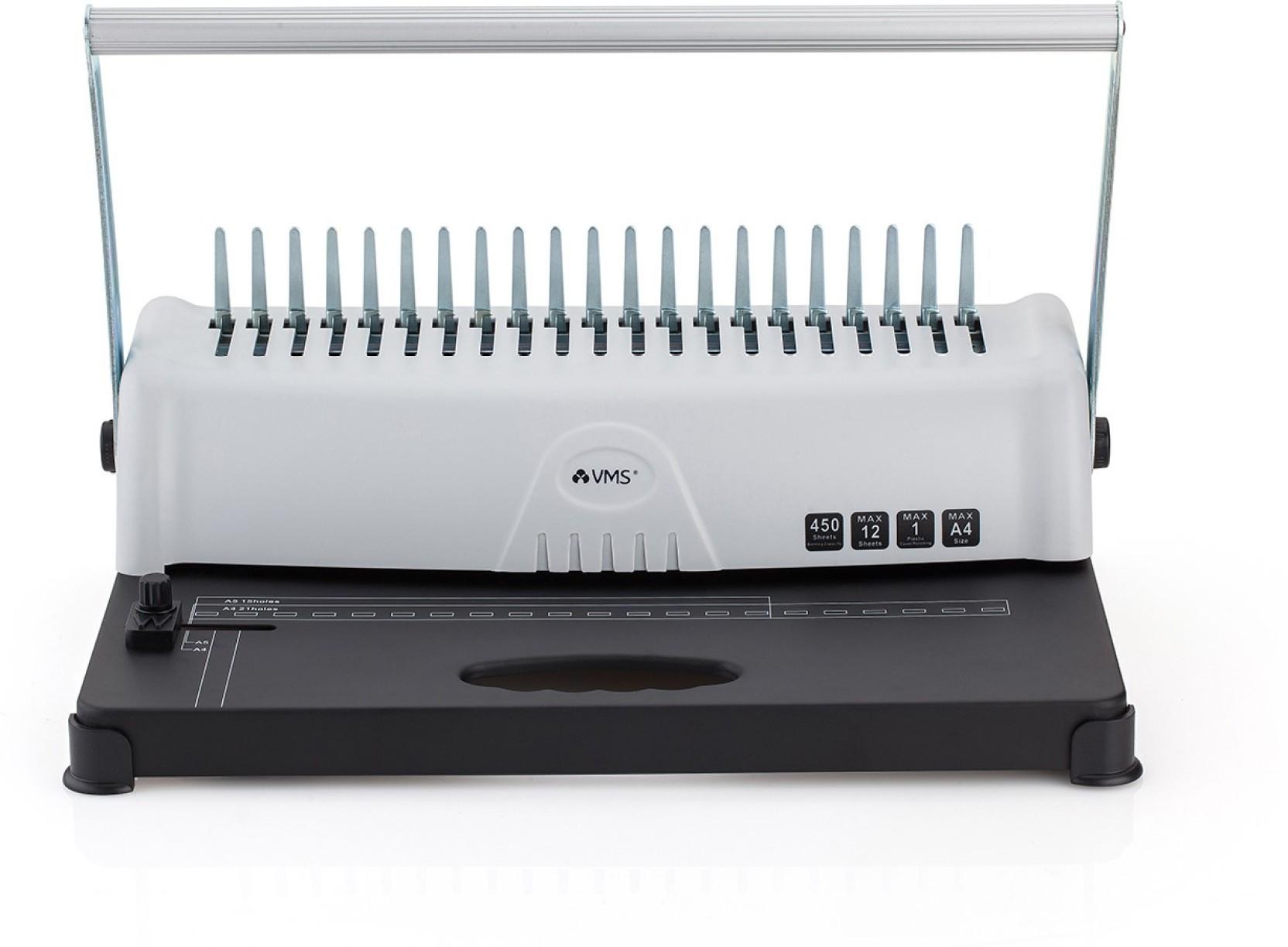 VMS Professional Spiral Binder Deluxe Machine Manual Wire Binder ...