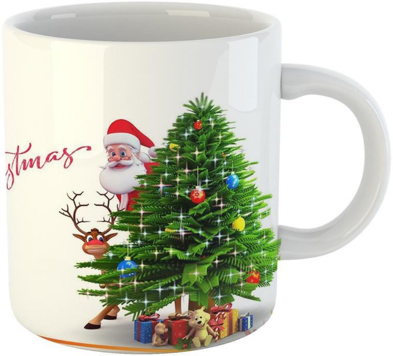 Mugs4You Merry Christmas Gift mug Coffee for friend brother sister