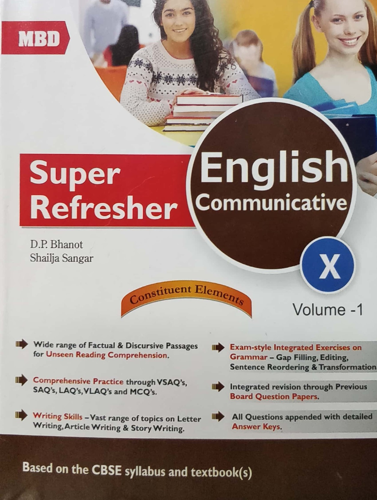 MBD Class 10 English Part 1-2-3. ADD TO CART