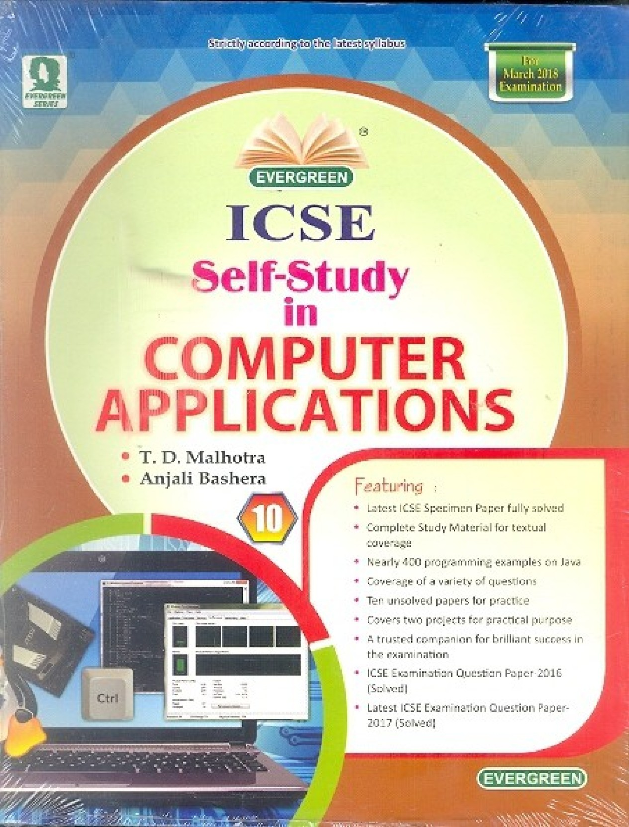 Evergreen ICSE SelfStudy in Computer Applications Class10. ON OFFER