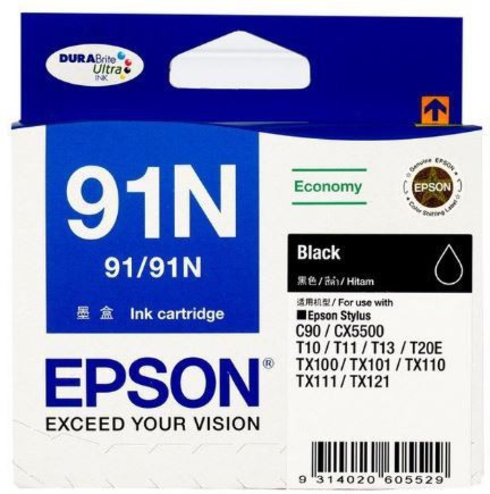 Epson 91 N BLACK Multi Color Ink Cartridge ADD TO CART