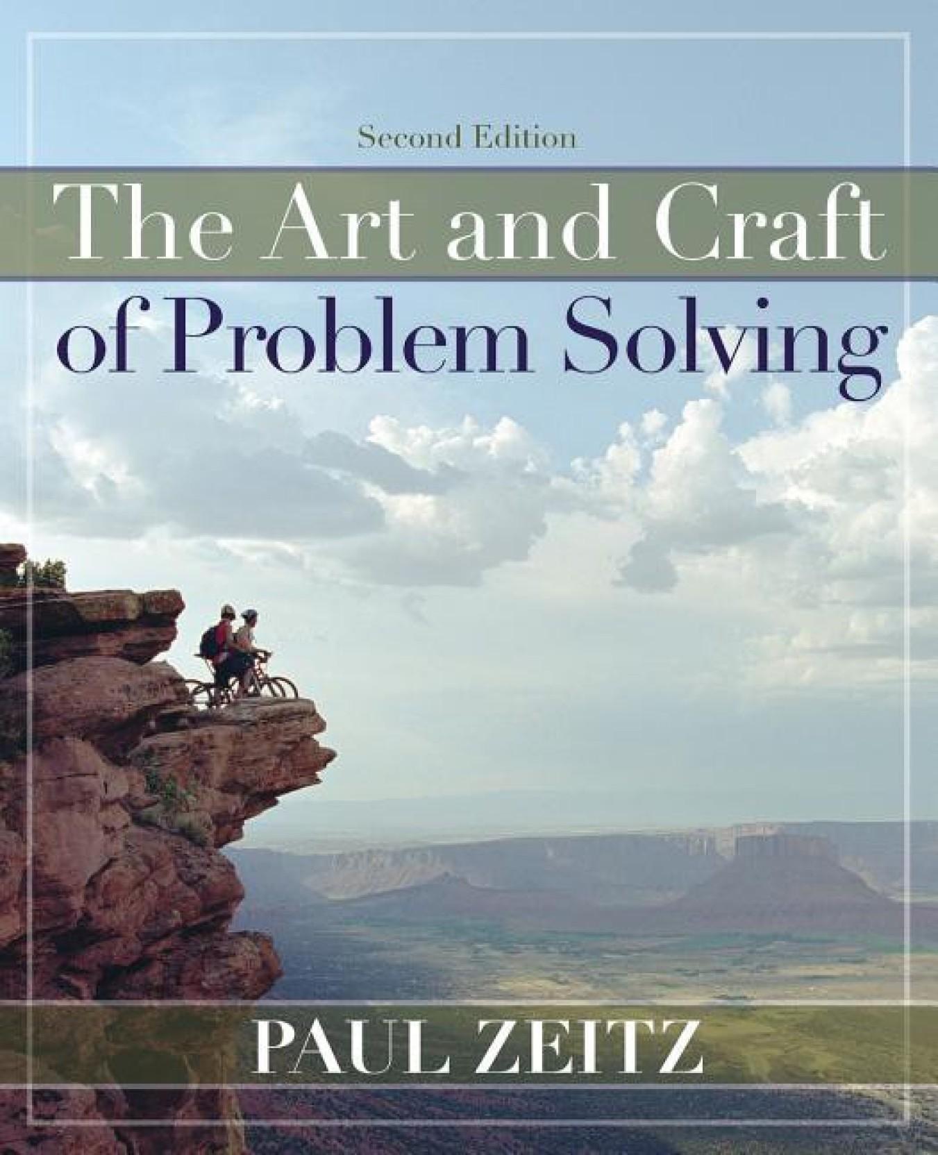 the art of problem solving paul zeitz