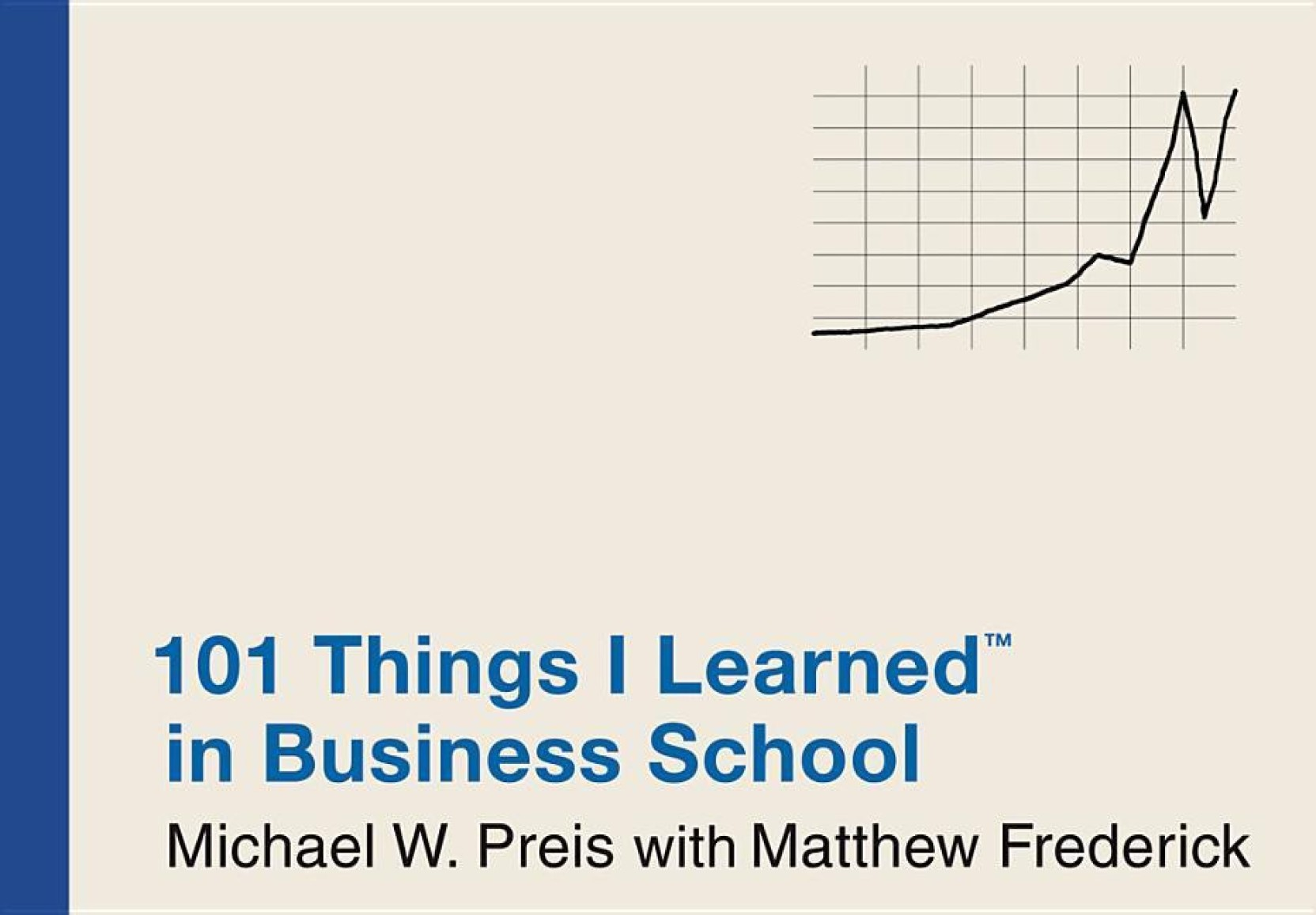 101 Things I Learned (R) in Business School. Home